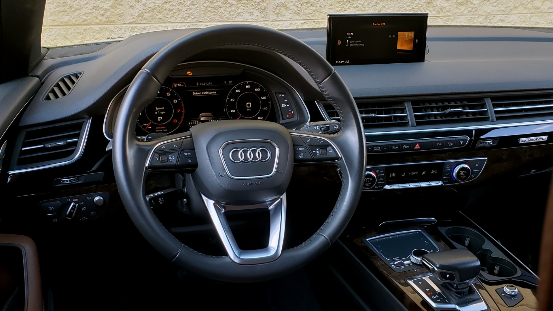 Used 2017 Audi Q7 PRESTIGE / DRVR ASST / CLD WTHR / TOW PKG / BOSE for sale Sold at Formula Imports in Charlotte NC 28227 33