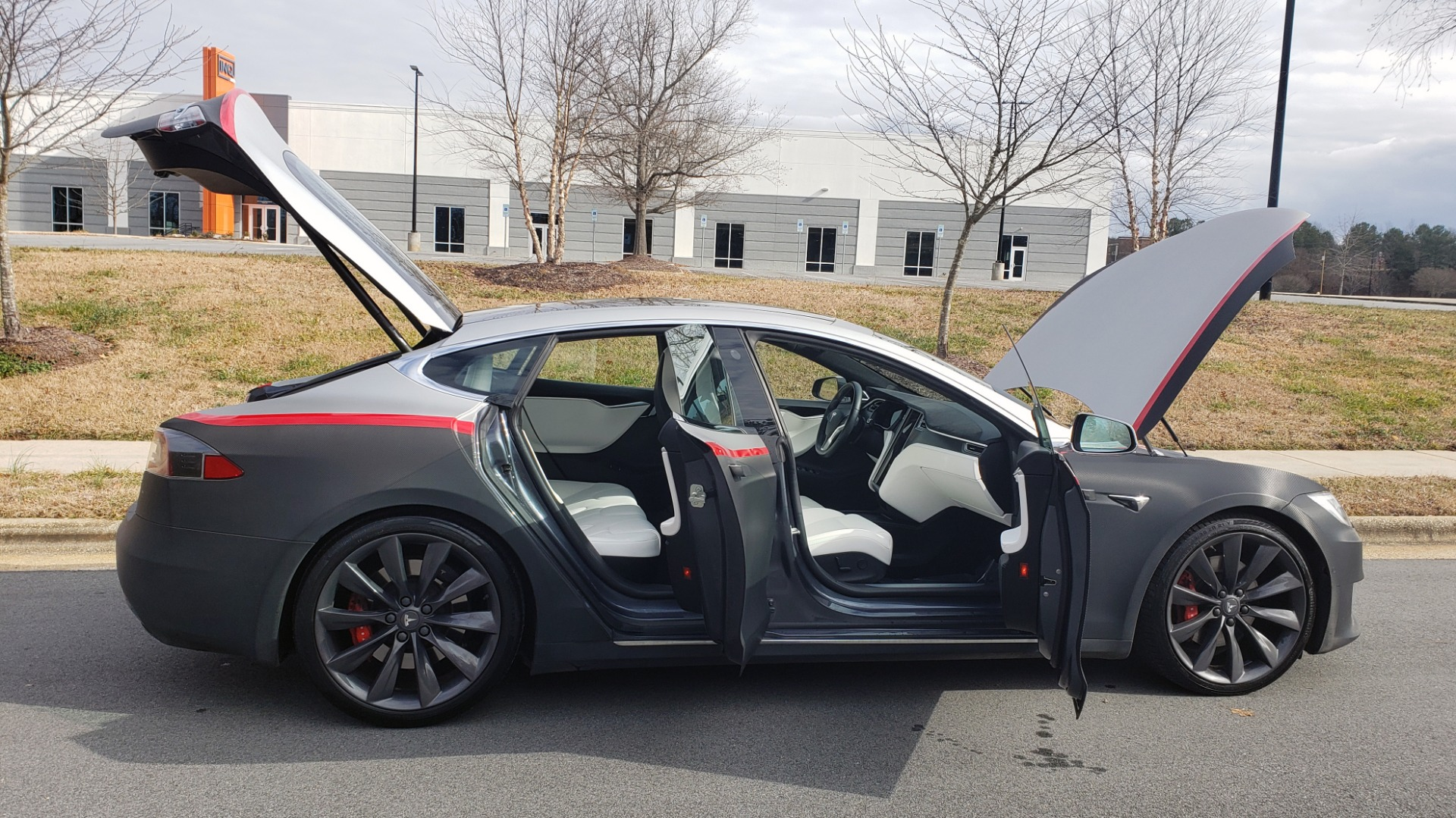 Used 2017 Tesla MODEL S P100D LUDICROUS PERF / PREM / TECH / AUTO PILOT for sale Sold at Formula Imports in Charlotte NC 28227 16