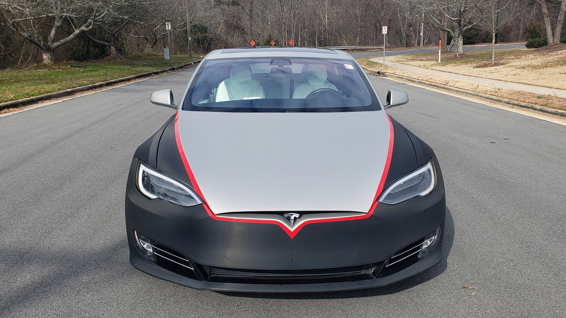 Used 2017 Tesla MODEL S P100D LUDICROUS PERF / PREM / TECH / AUTO PILOT for sale Sold at Formula Imports in Charlotte NC 28227 25