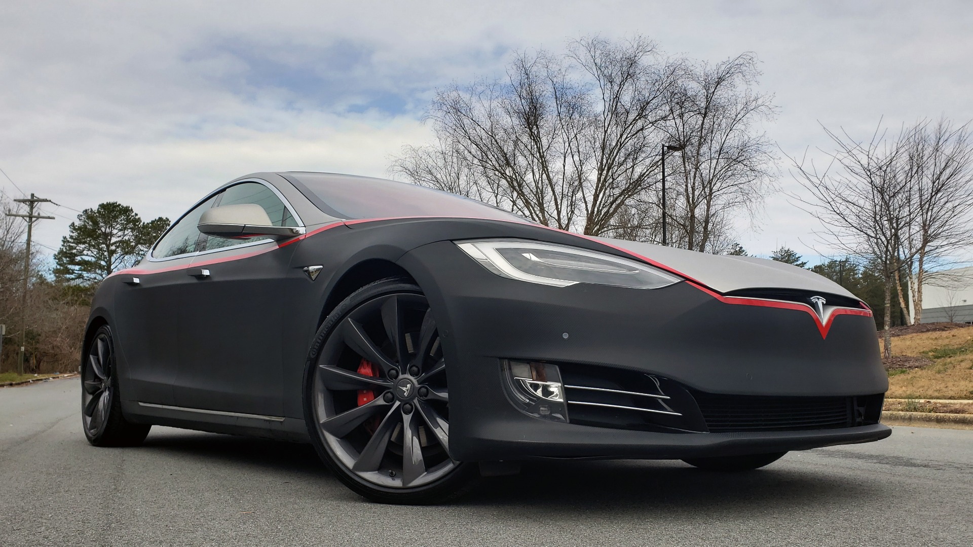 Used 2017 Tesla MODEL S P100D LUDICROUS PERF / PREM / TECH / AUTO PILOT for sale Sold at Formula Imports in Charlotte NC 28227 3