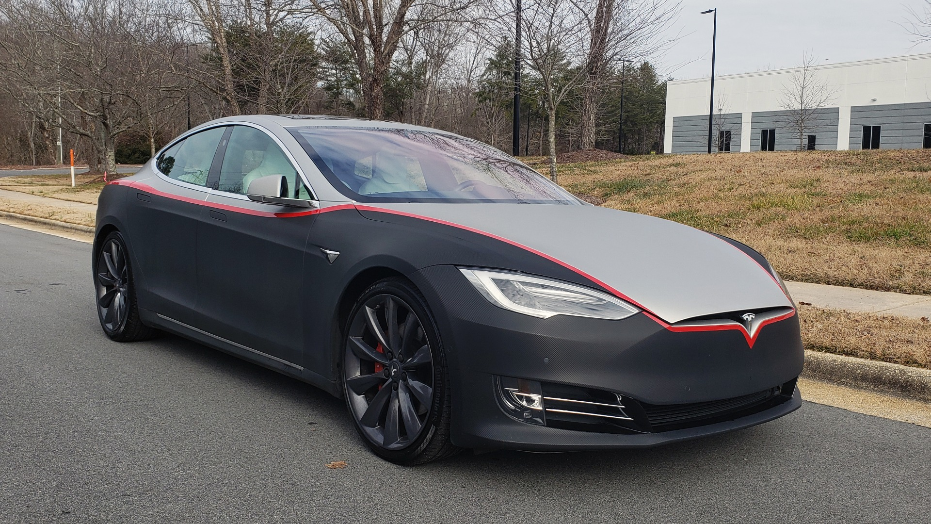 Used 2017 Tesla MODEL S P100D LUDICROUS PERF / PREM / TECH / AUTO PILOT for sale Sold at Formula Imports in Charlotte NC 28227 7