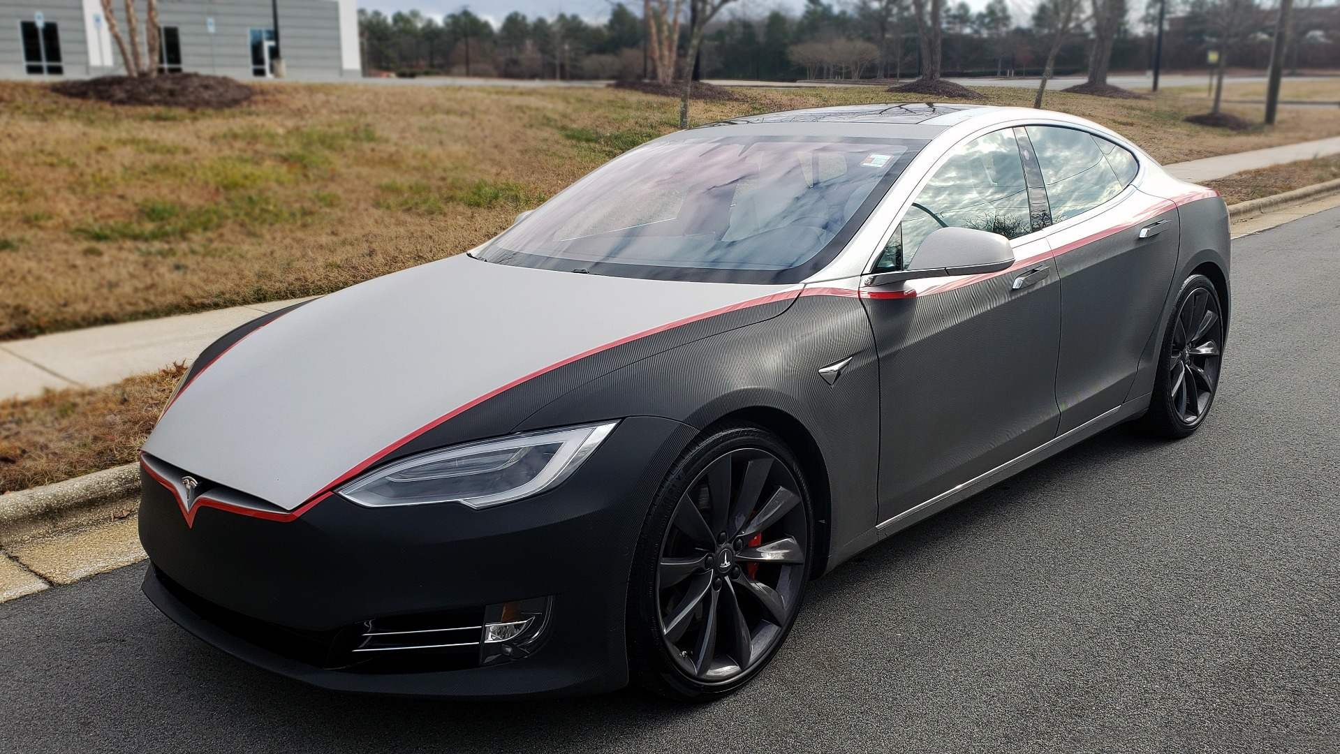 Used 2017 Tesla MODEL S P100D LUDICROUS PERF / PREM / TECH / AUTO PILOT for sale Sold at Formula Imports in Charlotte NC 28227 1