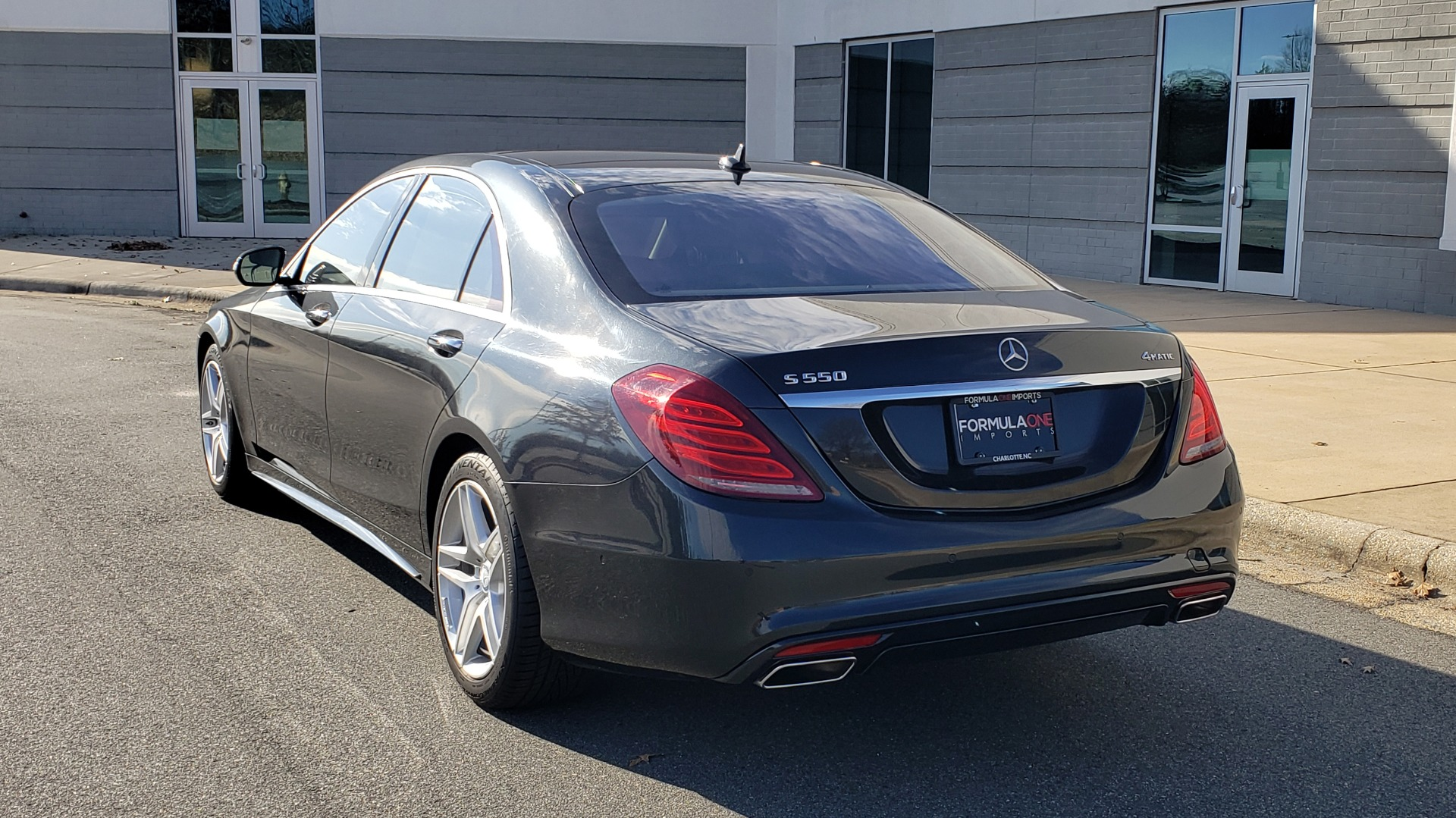 Used 2015 Mercedes-Benz S-CLASS S 550 PREMIUM / SPORT / WARMTH&COMFORT / DRVR ASST / SRND VIEW for sale Sold at Formula Imports in Charlotte NC 28227 4