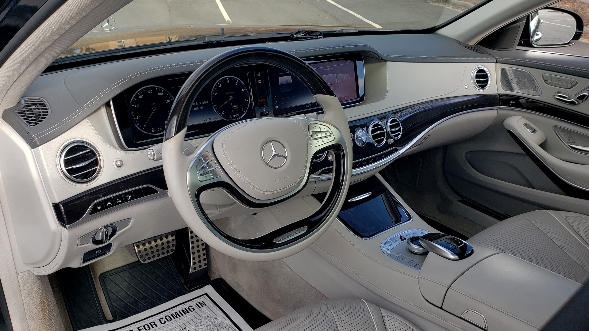 Used 2015 Mercedes-Benz S-CLASS S 550 PREMIUM / SPORT / WARMTH&COMFORT / DRVR ASST / SRND VIEW for sale Sold at Formula Imports in Charlotte NC 28227 42