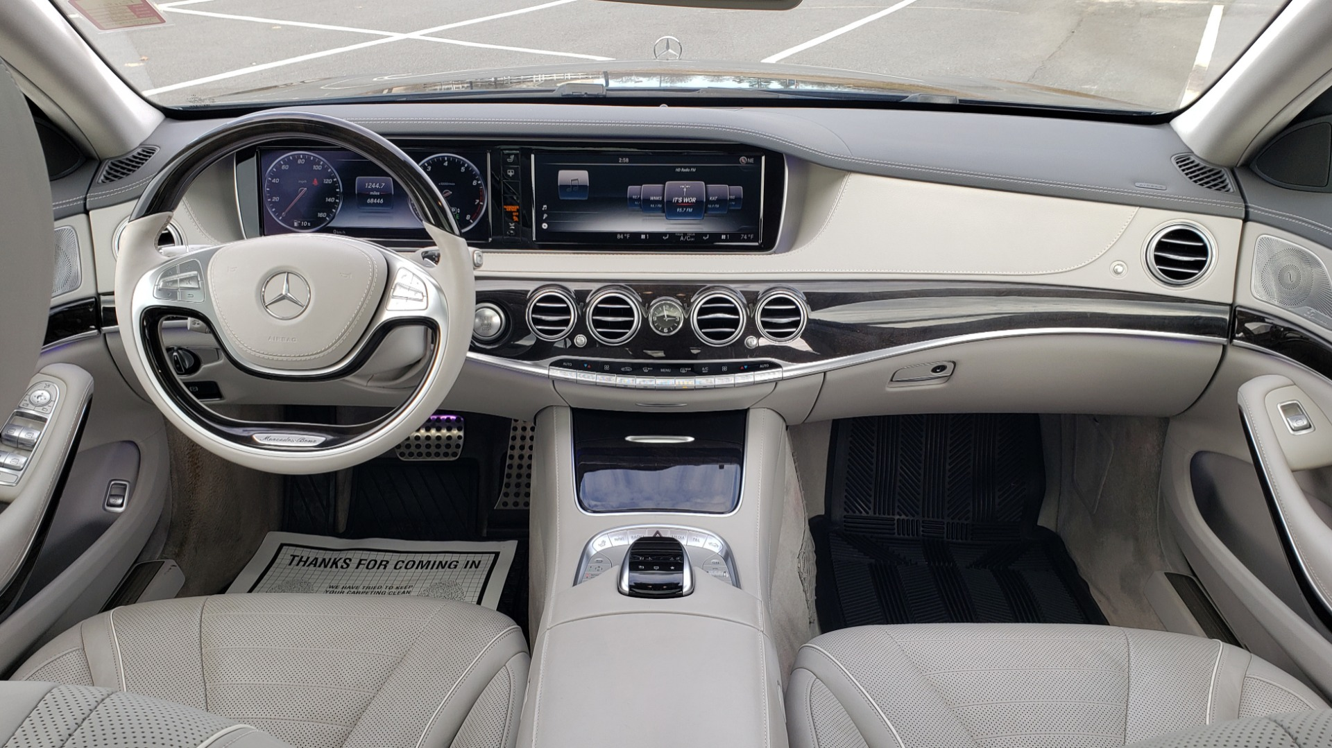 Used 2015 Mercedes-Benz S-CLASS S 550 PREMIUM / SPORT / WARMTH&COMFORT / DRVR ASST / SRND VIEW for sale Sold at Formula Imports in Charlotte NC 28227 91