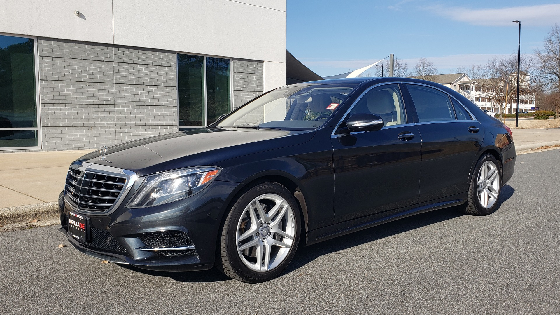 Used 2015 Mercedes-Benz S-CLASS S 550 PREMIUM / SPORT / WARMTH&COMFORT / DRVR ASST / SRND VIEW for sale Sold at Formula Imports in Charlotte NC 28227 1