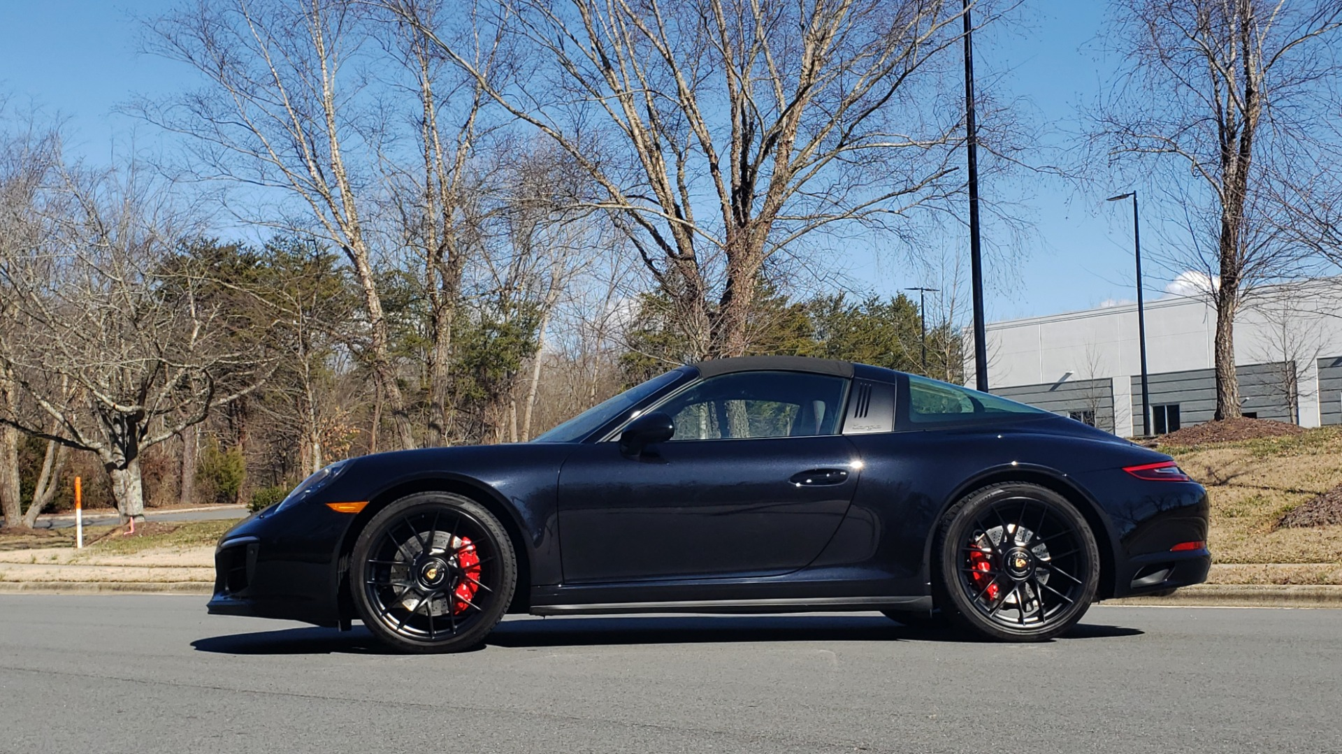 Used 2017 Porsche 911 TARGA 4 GTS / NAV / 7-SPD MANUAL / BURMESTER / REARVIEW for sale Sold at Formula Imports in Charlotte NC 28227 10