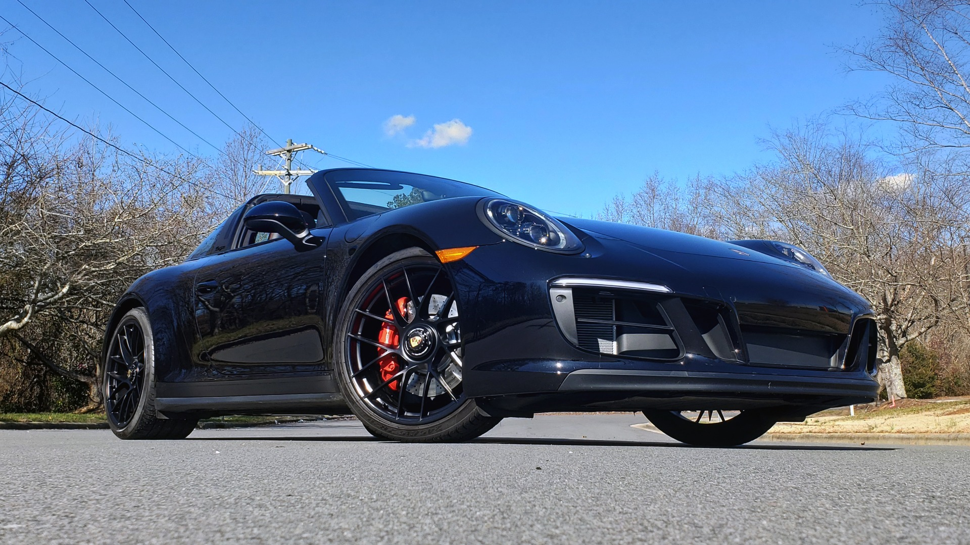 Used 2017 Porsche 911 TARGA 4 GTS / NAV / 7-SPD MANUAL / BURMESTER / REARVIEW for sale Sold at Formula Imports in Charlotte NC 28227 2