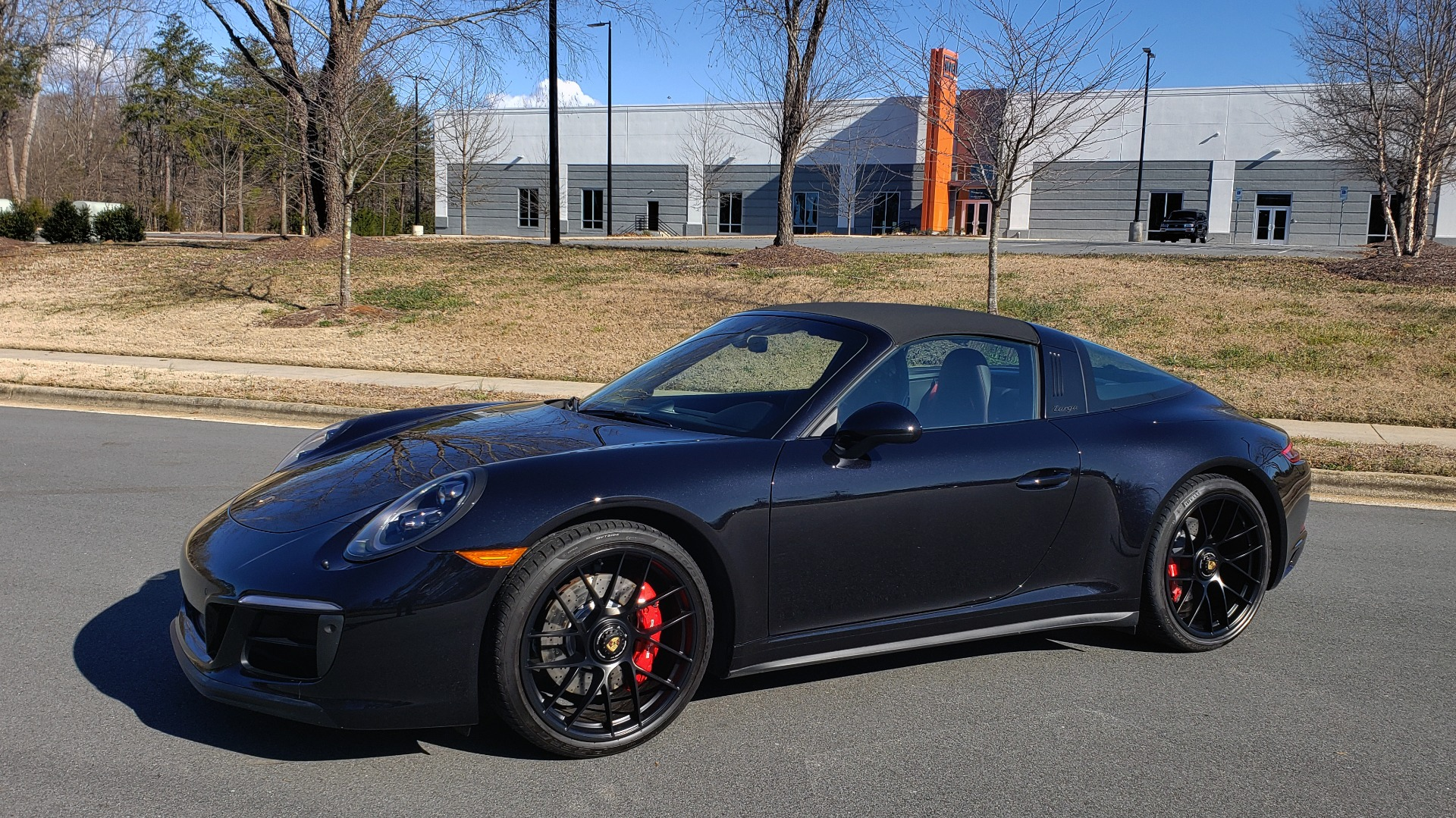 Used 2017 Porsche 911 TARGA 4 GTS / NAV / 7-SPD MANUAL / BURMESTER / REARVIEW for sale Sold at Formula Imports in Charlotte NC 28227 9