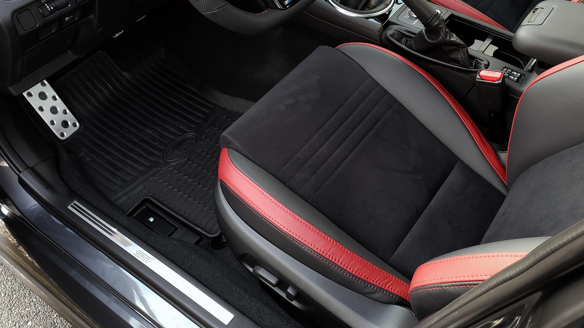 Used 2020 Subaru WRX STI 2.5L TURBO / 6-SPEED MANUAL / RECARO SEATS / REARVIEW for sale Sold at Formula Imports in Charlotte NC 28227 26