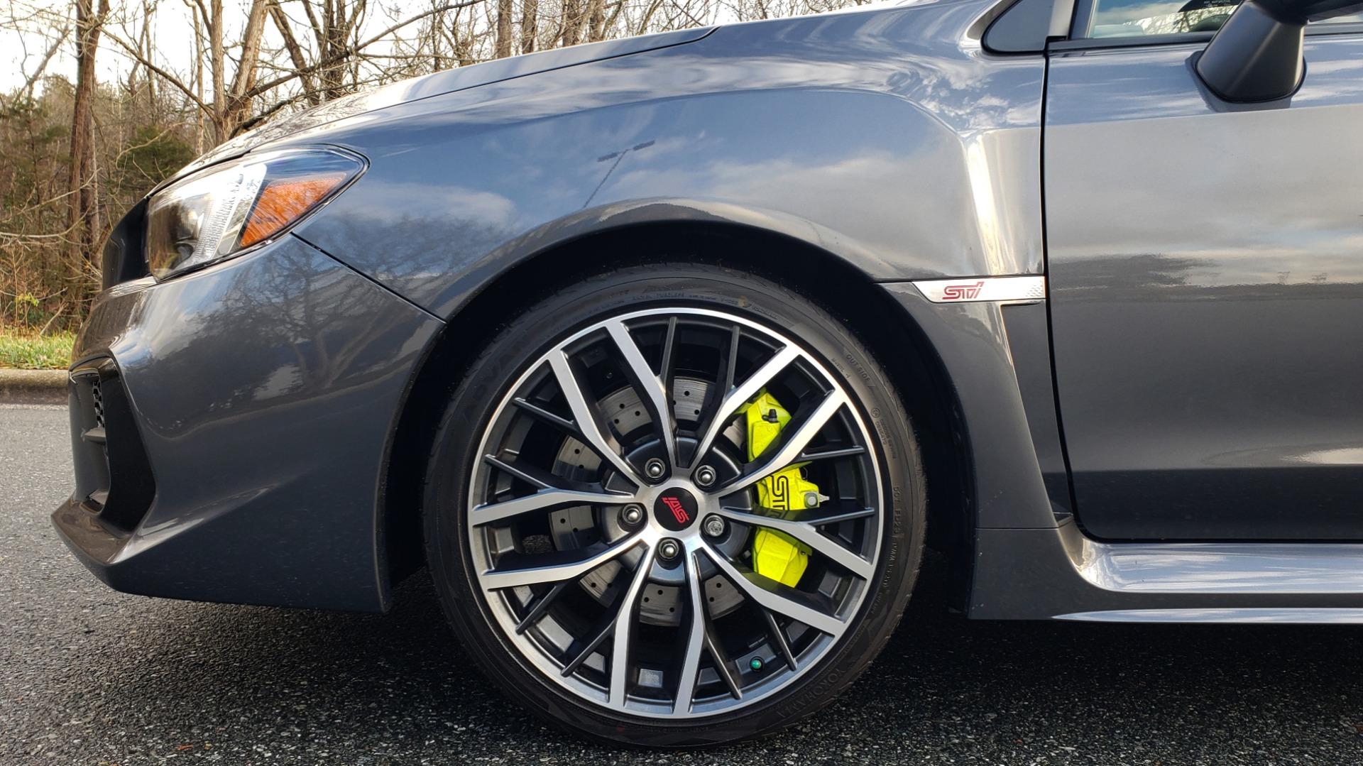 Used 2020 Subaru WRX STI 2.5L TURBO / 6-SPEED MANUAL / RECARO SEATS / REARVIEW for sale Sold at Formula Imports in Charlotte NC 28227 90