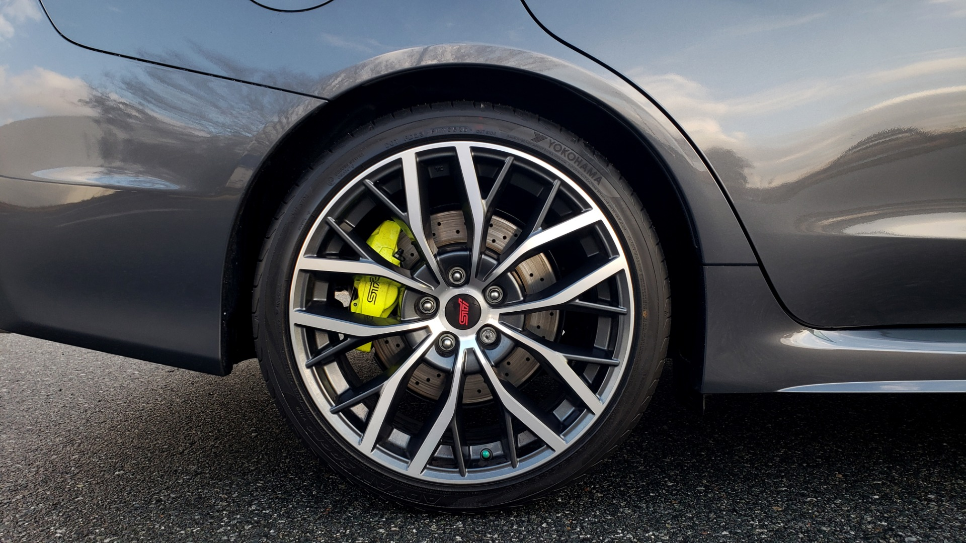 Used 2020 Subaru WRX STI 2.5L TURBO / 6-SPEED MANUAL / RECARO SEATS / REARVIEW for sale Sold at Formula Imports in Charlotte NC 28227 92