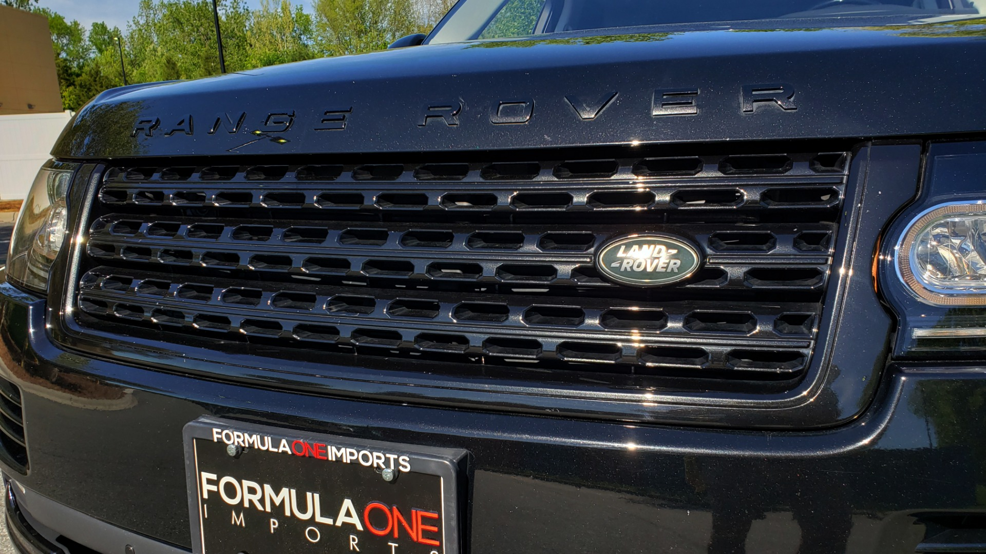 Used 2016 Land Rover RANGE ROVER SC V8 / LWB / NAV / PANO-ROOF / BURMESTER / REARVIEW for sale Sold at Formula Imports in Charlotte NC 28227 75