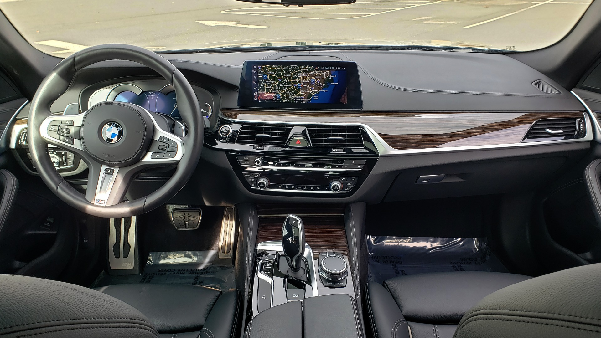 Used 2018 BMW 5 SERIES 540I XDRIVE / M-SPORT / NAV / WIFI / SUNROOF / REARVIEW for sale $36,773 at Formula Imports in Charlotte NC 28227 77