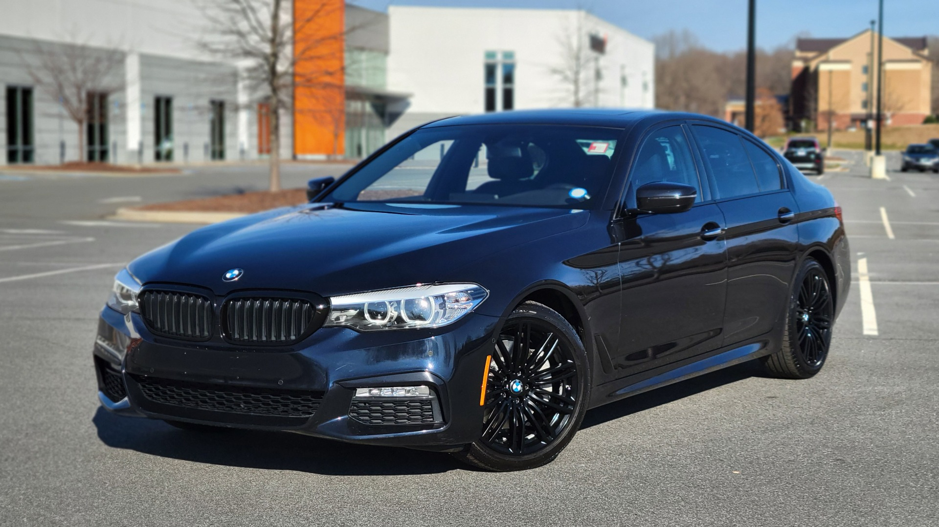 Used 2018 BMW 5 SERIES 540I XDRIVE / M-SPORT / NAV / WIFI / SUNROOF / REARVIEW for sale $36,773 at Formula Imports in Charlotte NC 28227 1