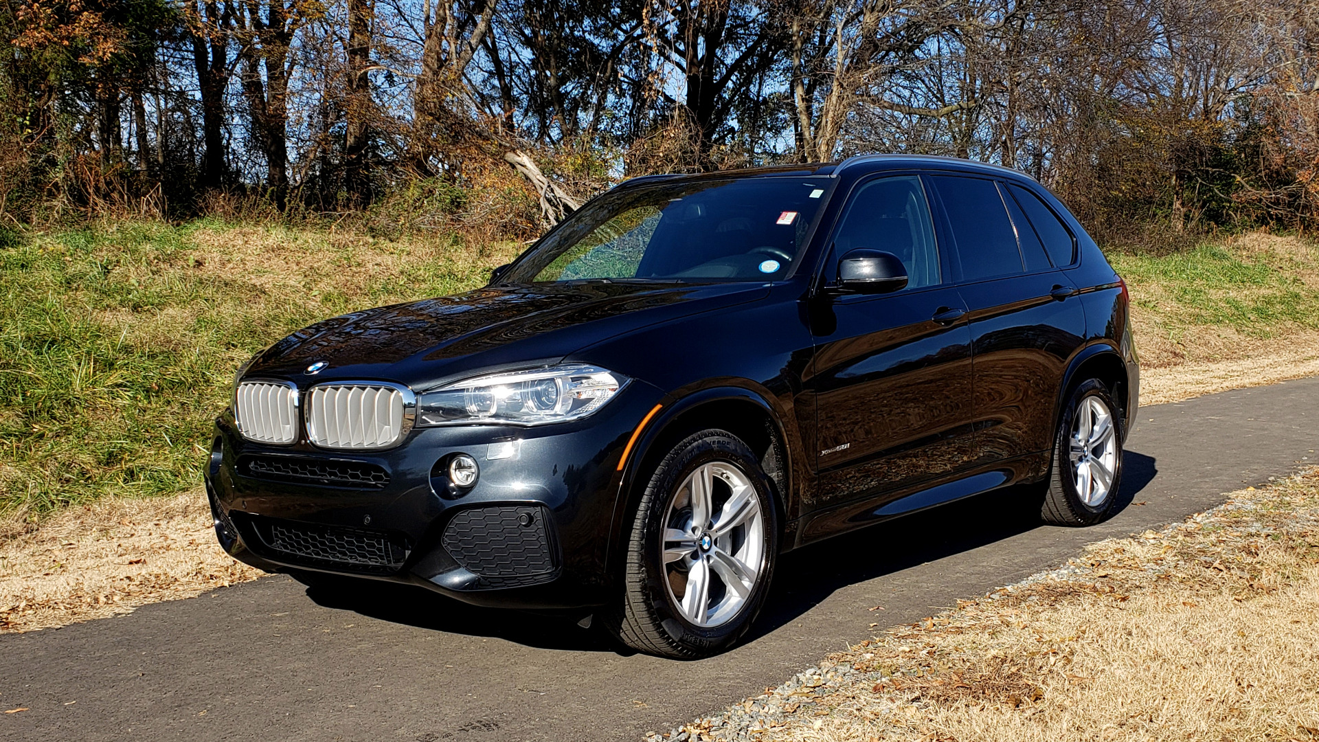 Used 2017 BMW X5 xDrive50i M-SPORT / EXEC PKG / DRVR ASST PLUS / CLD WTHR for sale Sold at Formula Imports in Charlotte NC 28227 1
