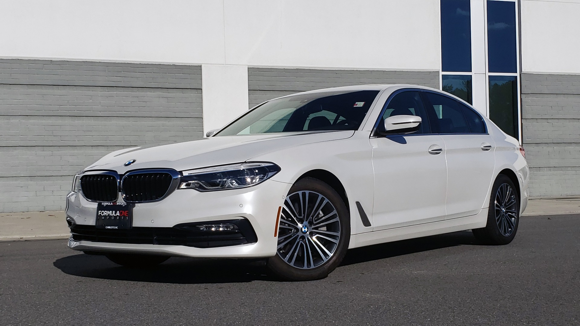 Used 2017 BMW 5 SERIES 540I XDRIVE PREMIUM / NAV / DRVR ASST / CLD WTHR / REARVIEW for sale $34,995 at Formula Imports in Charlotte NC 28227 1