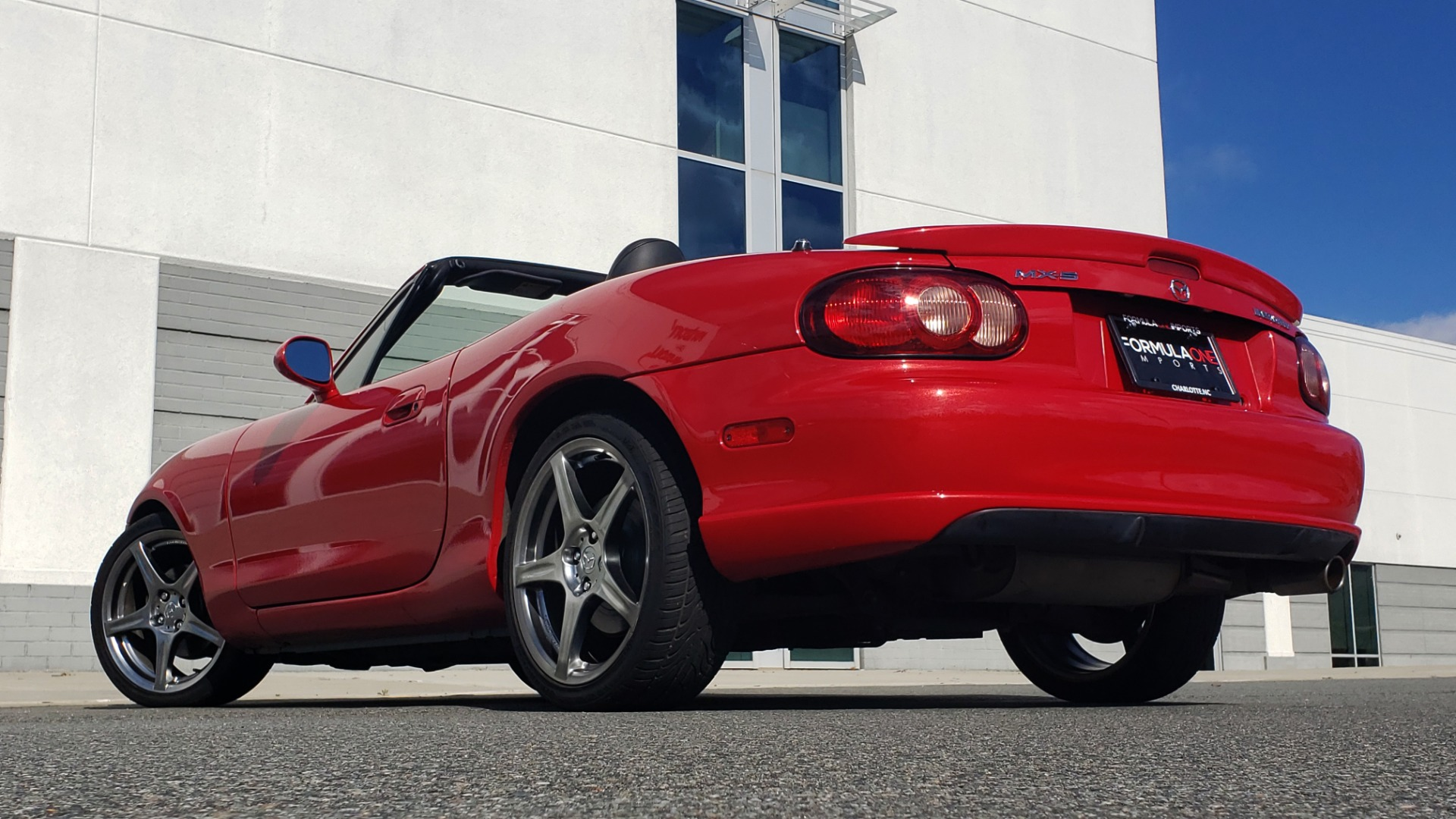 Used 2004 Mazda MX-5 MIATA 2DR CONVERTIBLE MAZDASPEED / GRAND TOURING PKG for sale Sold at Formula Imports in Charlotte NC 28227 2