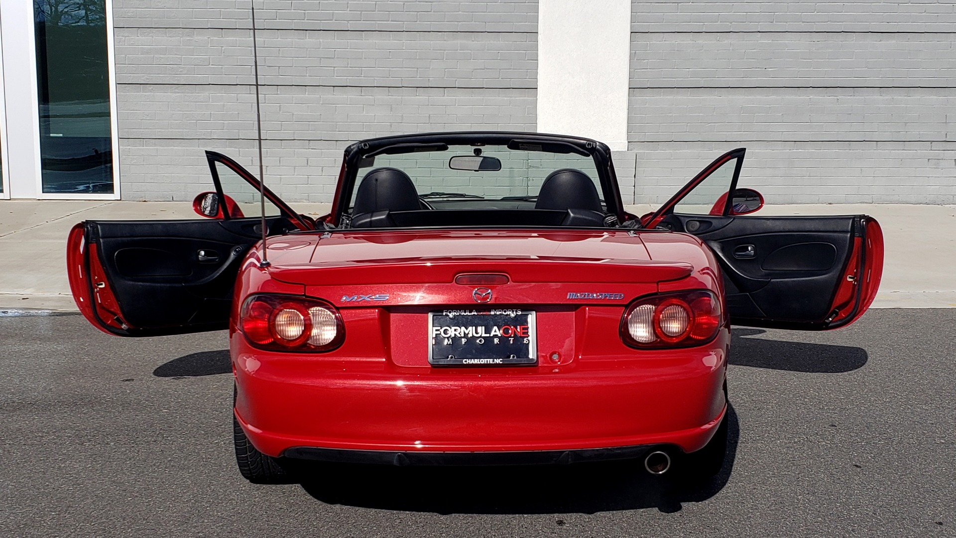 Used 2004 Mazda MX-5 MIATA 2DR CONVERTIBLE MAZDASPEED / GRAND TOURING PKG for sale Sold at Formula Imports in Charlotte NC 28227 68