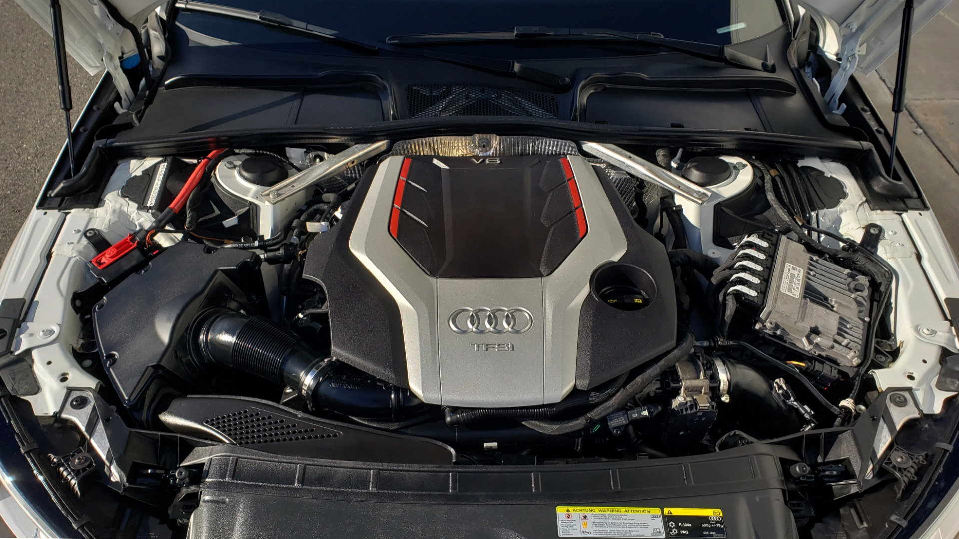Used 2018 Audi S4 PREMIUM PLUS / TECH PKG / NAV / CLD WTHR / REARVIEW for sale Sold at Formula Imports in Charlotte NC 28227 12