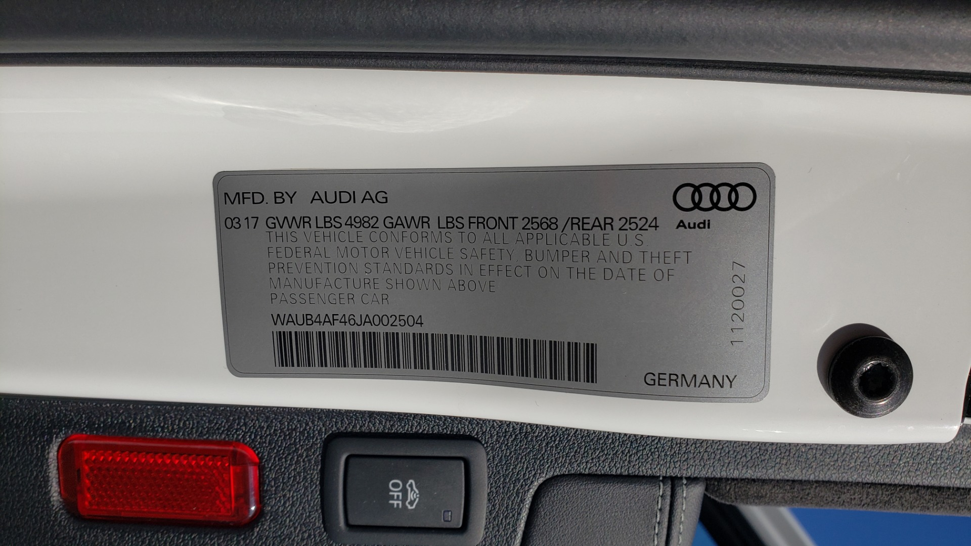 Used 2018 Audi S4 PREMIUM PLUS / TECH PKG / NAV / CLD WTHR / REARVIEW for sale Sold at Formula Imports in Charlotte NC 28227 98