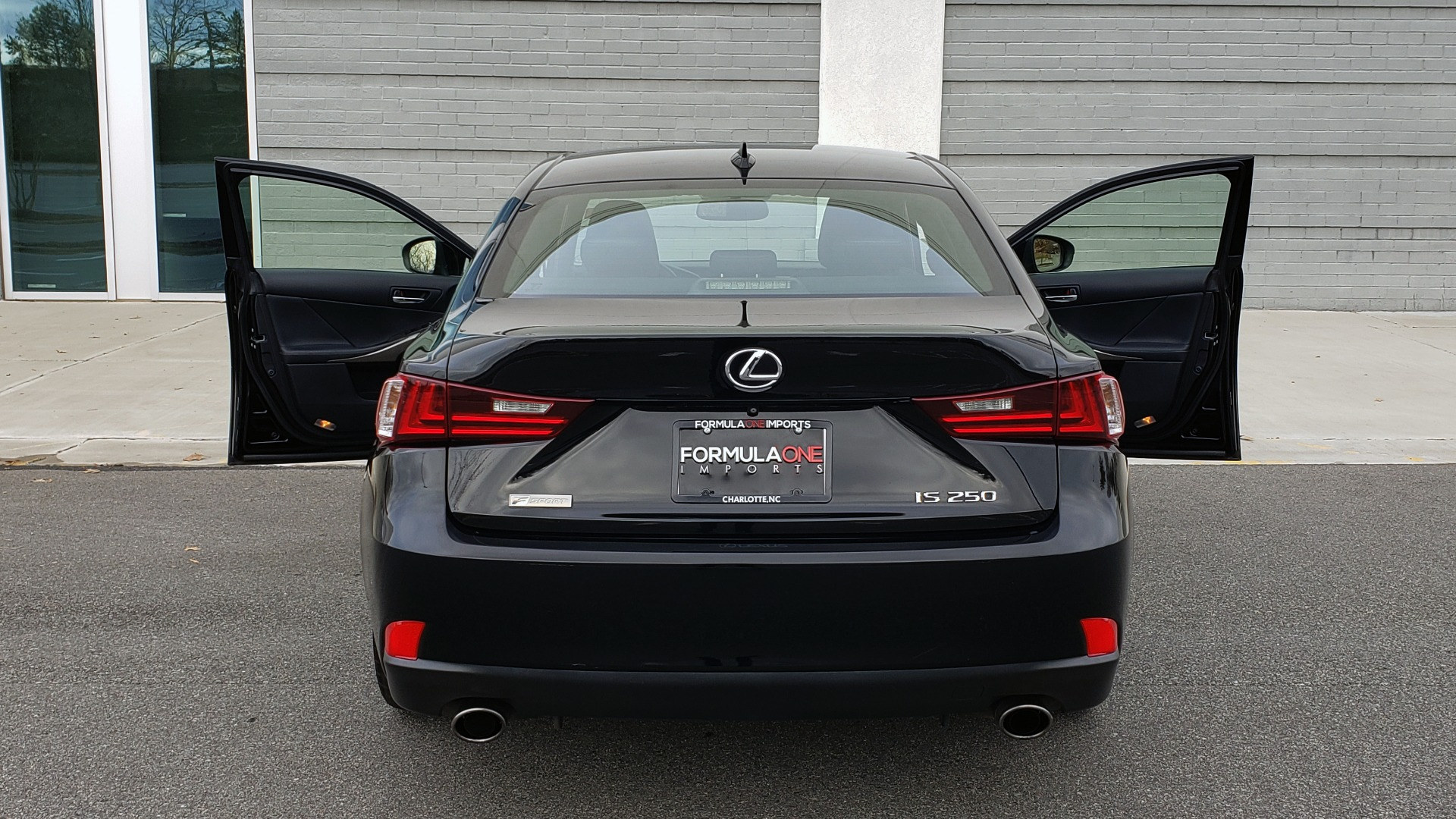 Used 2015 Lexus IS 250 F-SPORT / BLIND SPOT MON / SUNROOF / REARVIEW for sale Sold at Formula Imports in Charlotte NC 28227 25