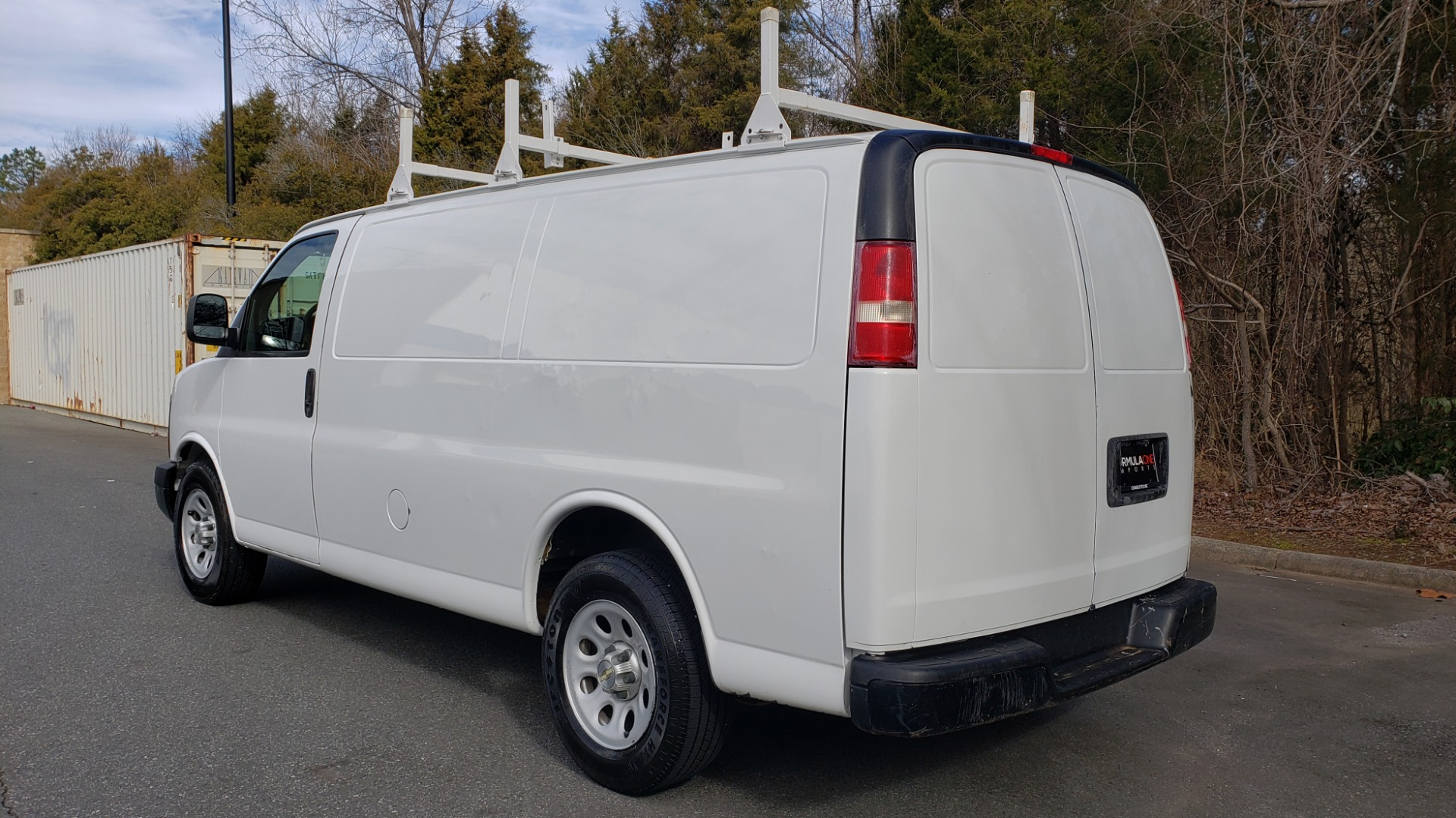 Used 2012 Chevrolet EXPRESS CARGO VAN 1500 / 135 WB / 4.3L V6 / 4-SPD AUTO / ROOF RACK for sale $10,995 at Formula Imports in Charlotte NC 28227 3