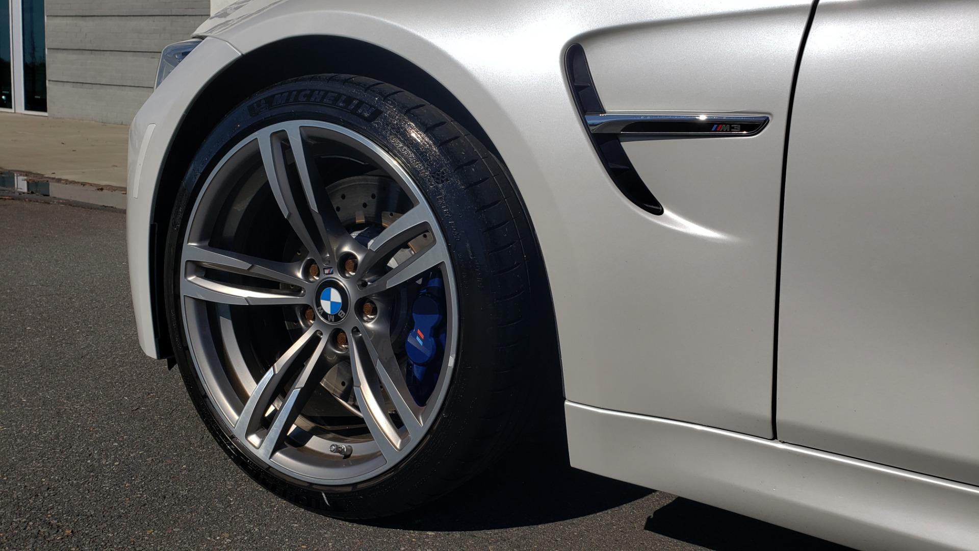 Used 2016 BMW M3 SEDAN / EXECUTIVE PKG / M-SUSPENSION / HARMAN/KARDON SOUND for sale Sold at Formula Imports in Charlotte NC 28227 10