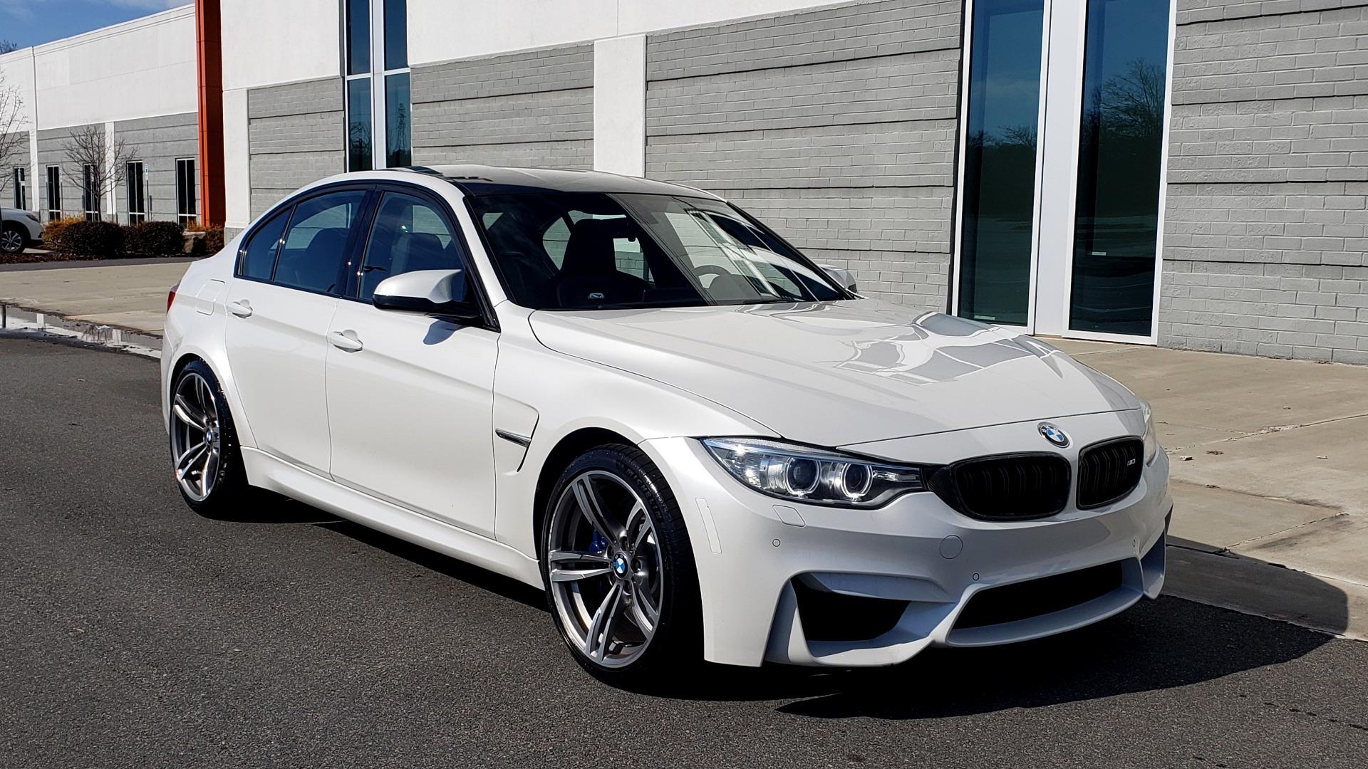Used 2016 BMW M3 SEDAN / EXECUTIVE PKG / M-SUSPENSION / HARMAN/KARDON SOUND for sale Sold at Formula Imports in Charlotte NC 28227 15