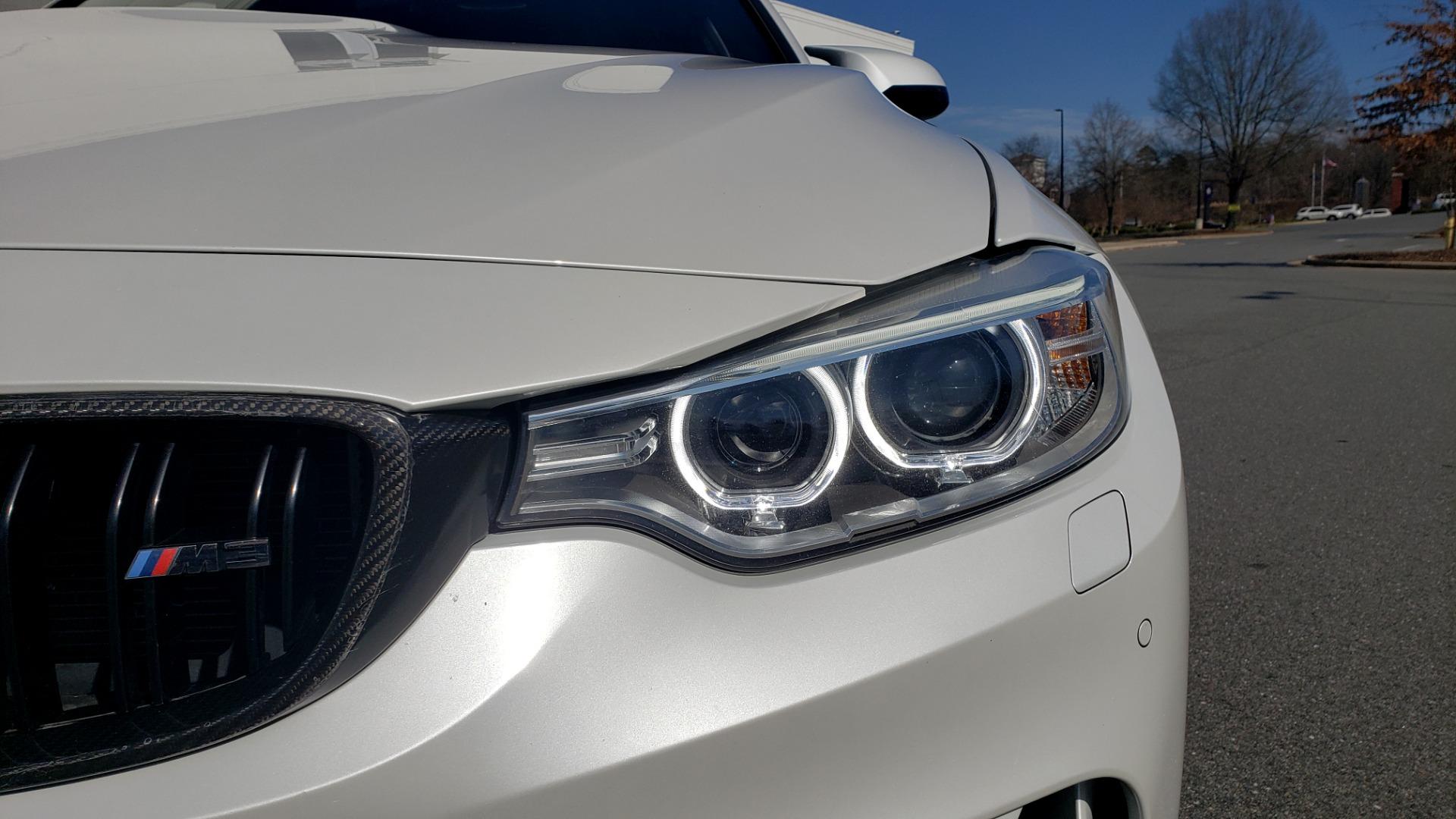 Used 2016 BMW M3 SEDAN / EXECUTIVE PKG / M-SUSPENSION / HARMAN/KARDON SOUND for sale Sold at Formula Imports in Charlotte NC 28227 18