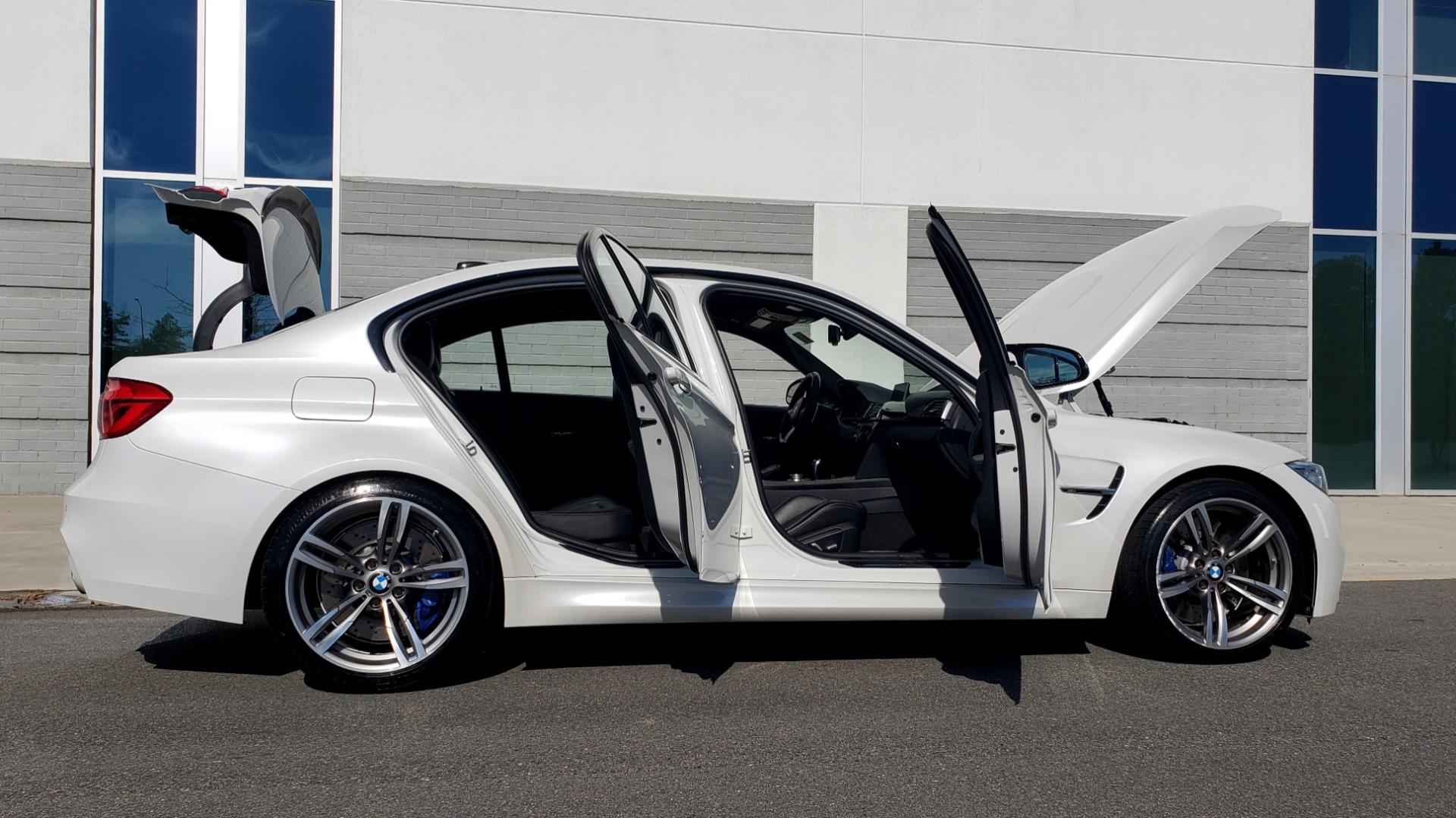 Used 2016 BMW M3 SEDAN / EXECUTIVE PKG / M-SUSPENSION / HARMAN/KARDON SOUND for sale Sold at Formula Imports in Charlotte NC 28227 22