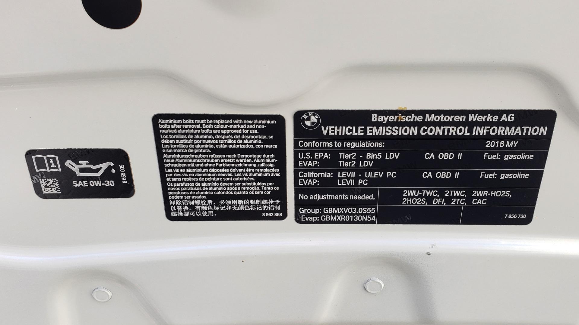 Used 2016 BMW M3 SEDAN / EXECUTIVE PKG / M-SUSPENSION / HARMAN/KARDON SOUND for sale Sold at Formula Imports in Charlotte NC 28227 26