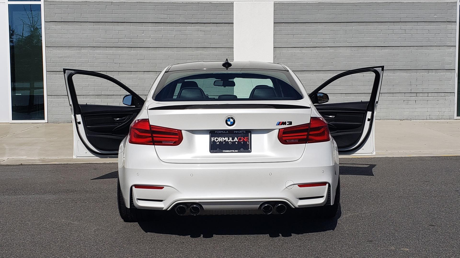 Used 2016 BMW M3 SEDAN / EXECUTIVE PKG / M-SUSPENSION / HARMAN/KARDON SOUND for sale Sold at Formula Imports in Charlotte NC 28227 31