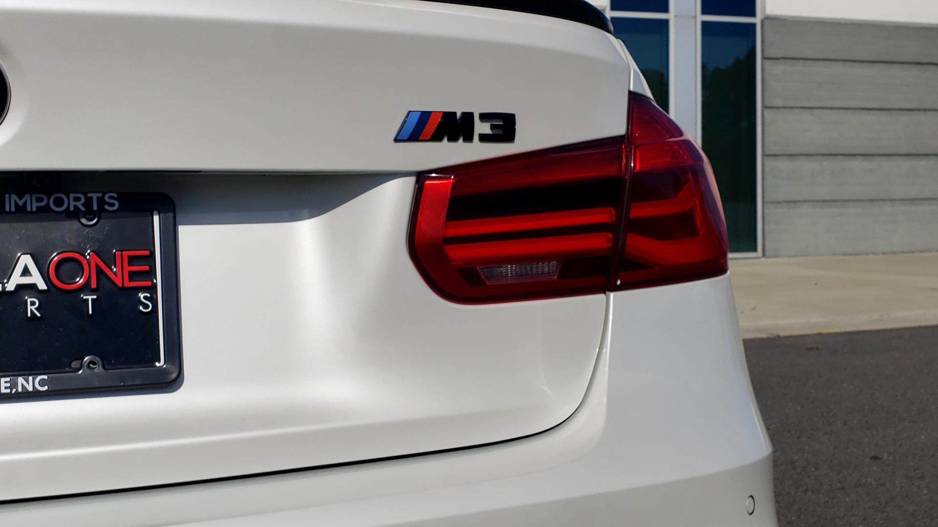 Used 2016 BMW M3 SEDAN / EXECUTIVE PKG / M-SUSPENSION / HARMAN/KARDON SOUND for sale Sold at Formula Imports in Charlotte NC 28227 33