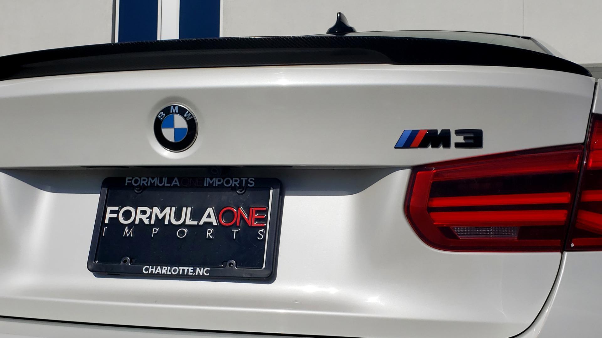 Used 2016 BMW M3 SEDAN / EXECUTIVE PKG / M-SUSPENSION / HARMAN/KARDON SOUND for sale Sold at Formula Imports in Charlotte NC 28227 34