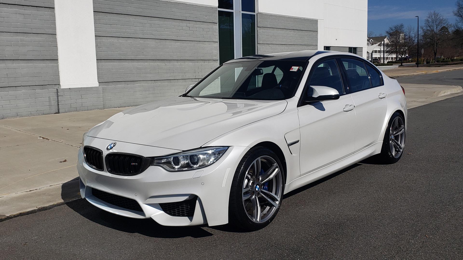 Used 2016 BMW M3 SEDAN / EXECUTIVE PKG / M-SUSPENSION / HARMAN/KARDON SOUND for sale Sold at Formula Imports in Charlotte NC 28227 4