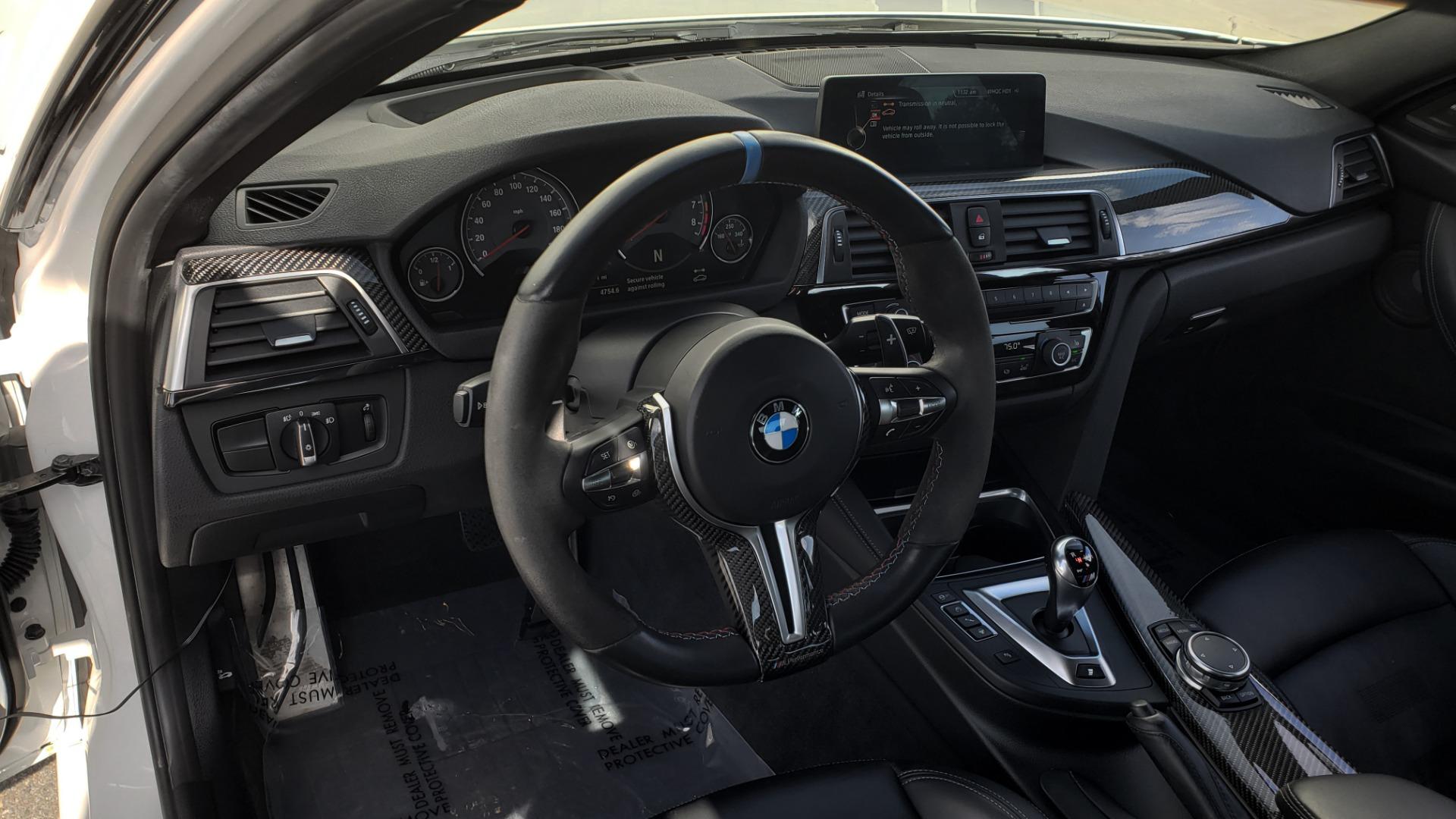 Used 2016 BMW M3 SEDAN / EXECUTIVE PKG / M-SUSPENSION / HARMAN/KARDON SOUND for sale Sold at Formula Imports in Charlotte NC 28227 42