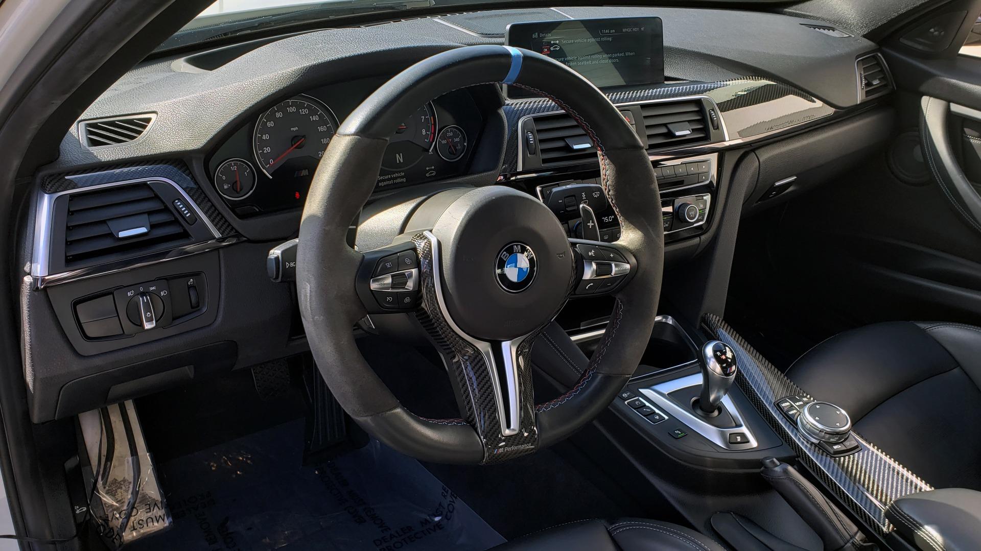 Used 2016 BMW M3 SEDAN / EXECUTIVE PKG / M-SUSPENSION / HARMAN/KARDON SOUND for sale Sold at Formula Imports in Charlotte NC 28227 43