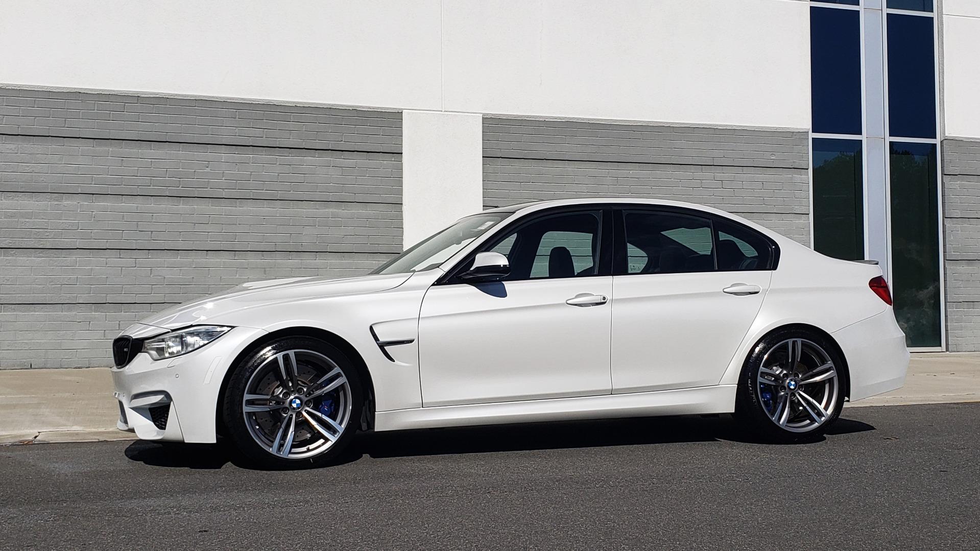 Used 2016 BMW M3 SEDAN / EXECUTIVE PKG / M-SUSPENSION / HARMAN/KARDON SOUND for sale Sold at Formula Imports in Charlotte NC 28227 5