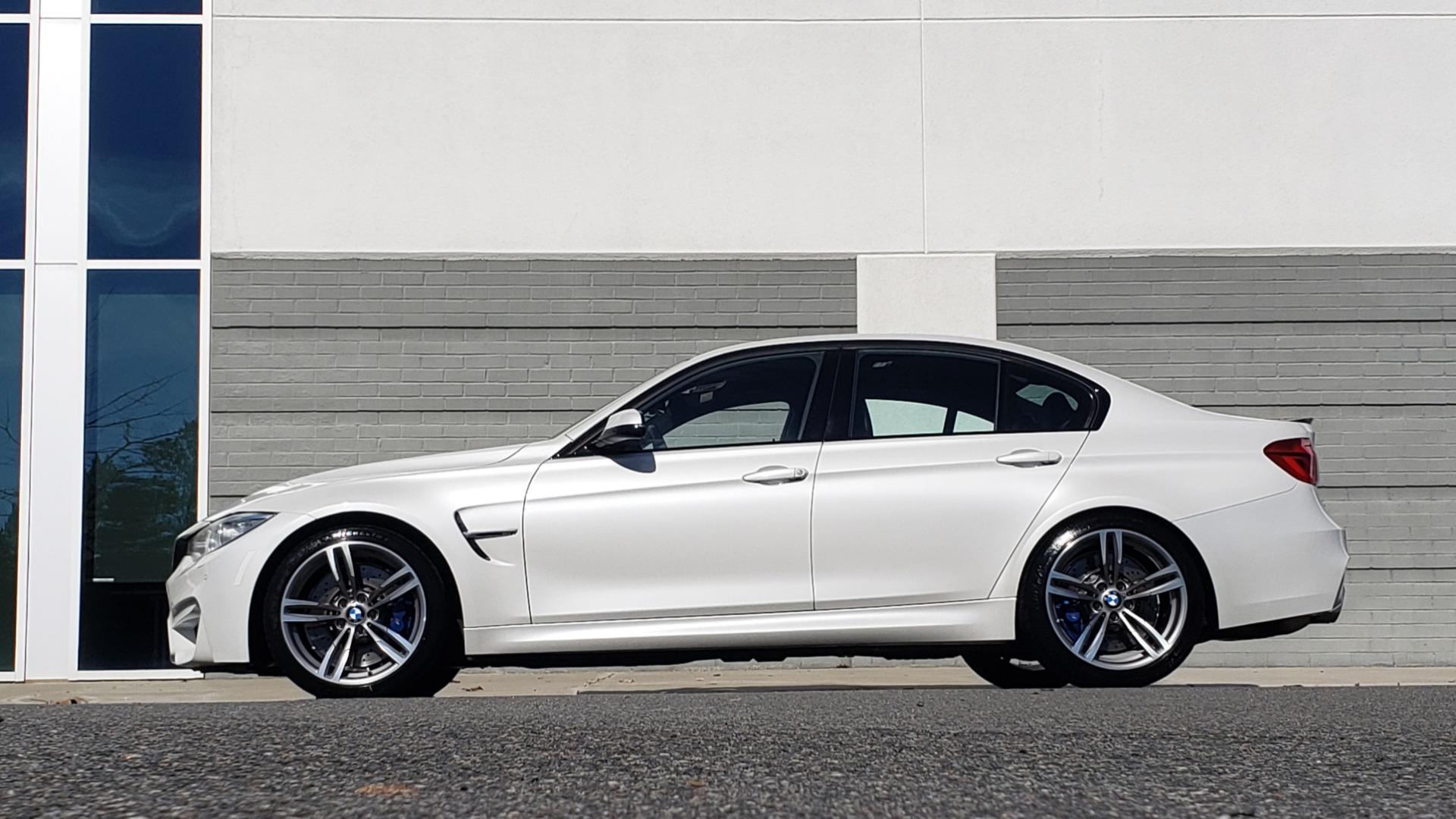 Used 2016 BMW M3 SEDAN / EXECUTIVE PKG / M-SUSPENSION / HARMAN/KARDON SOUND for sale Sold at Formula Imports in Charlotte NC 28227 6
