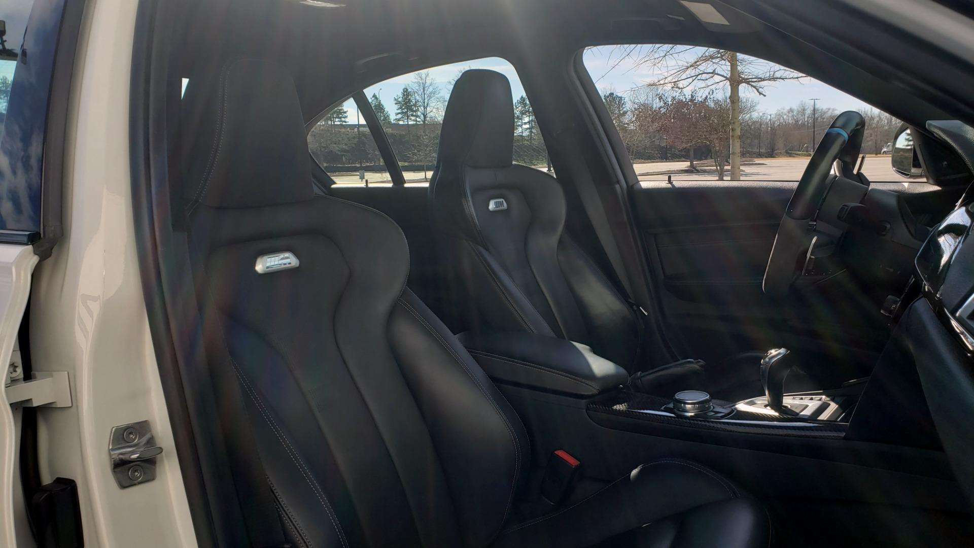 Used 2016 BMW M3 SEDAN / EXECUTIVE PKG / M-SUSPENSION / HARMAN/KARDON SOUND for sale Sold at Formula Imports in Charlotte NC 28227 68