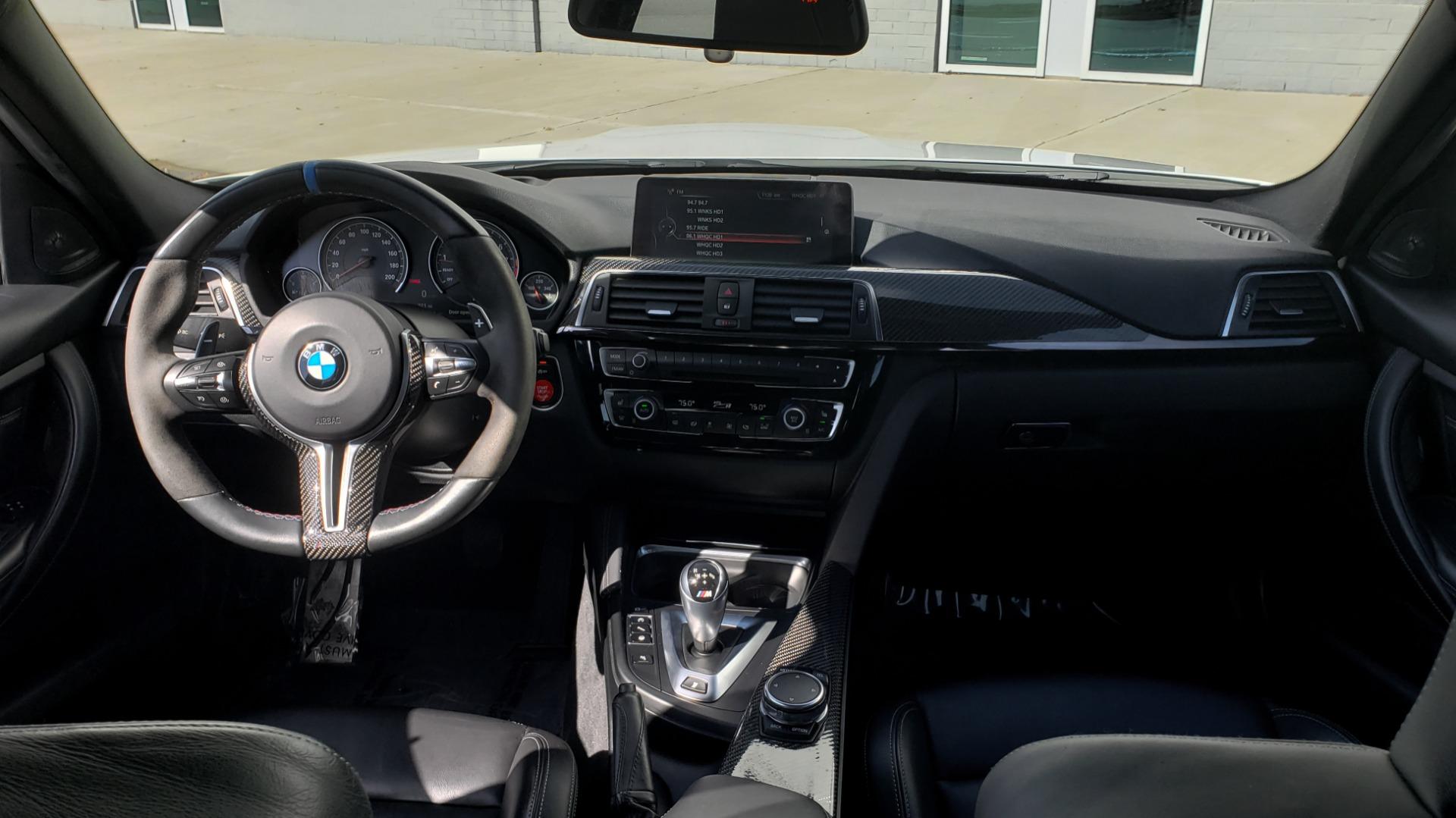 Used 2016 BMW M3 SEDAN / EXECUTIVE PKG / M-SUSPENSION / HARMAN/KARDON SOUND for sale Sold at Formula Imports in Charlotte NC 28227 77