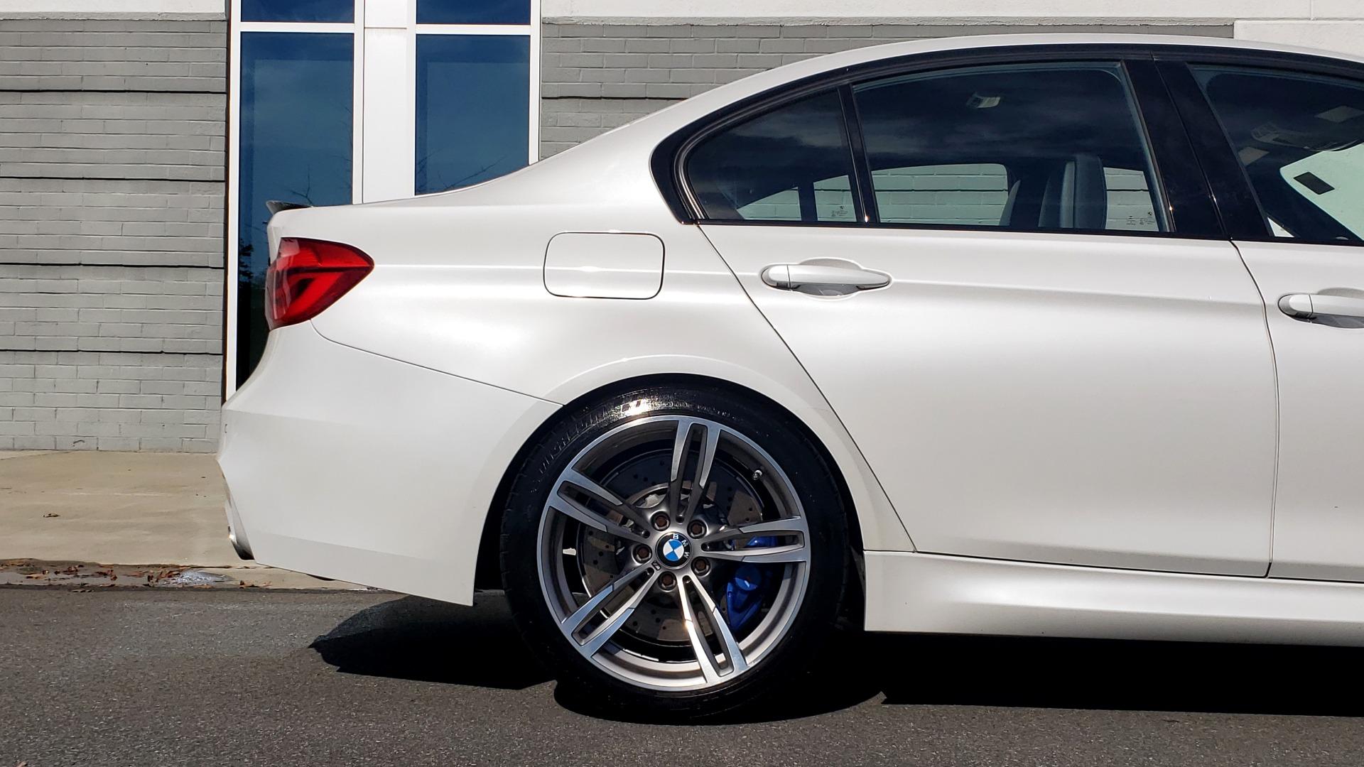 Used 2016 BMW M3 SEDAN / EXECUTIVE PKG / M-SUSPENSION / HARMAN/KARDON SOUND for sale Sold at Formula Imports in Charlotte NC 28227 80