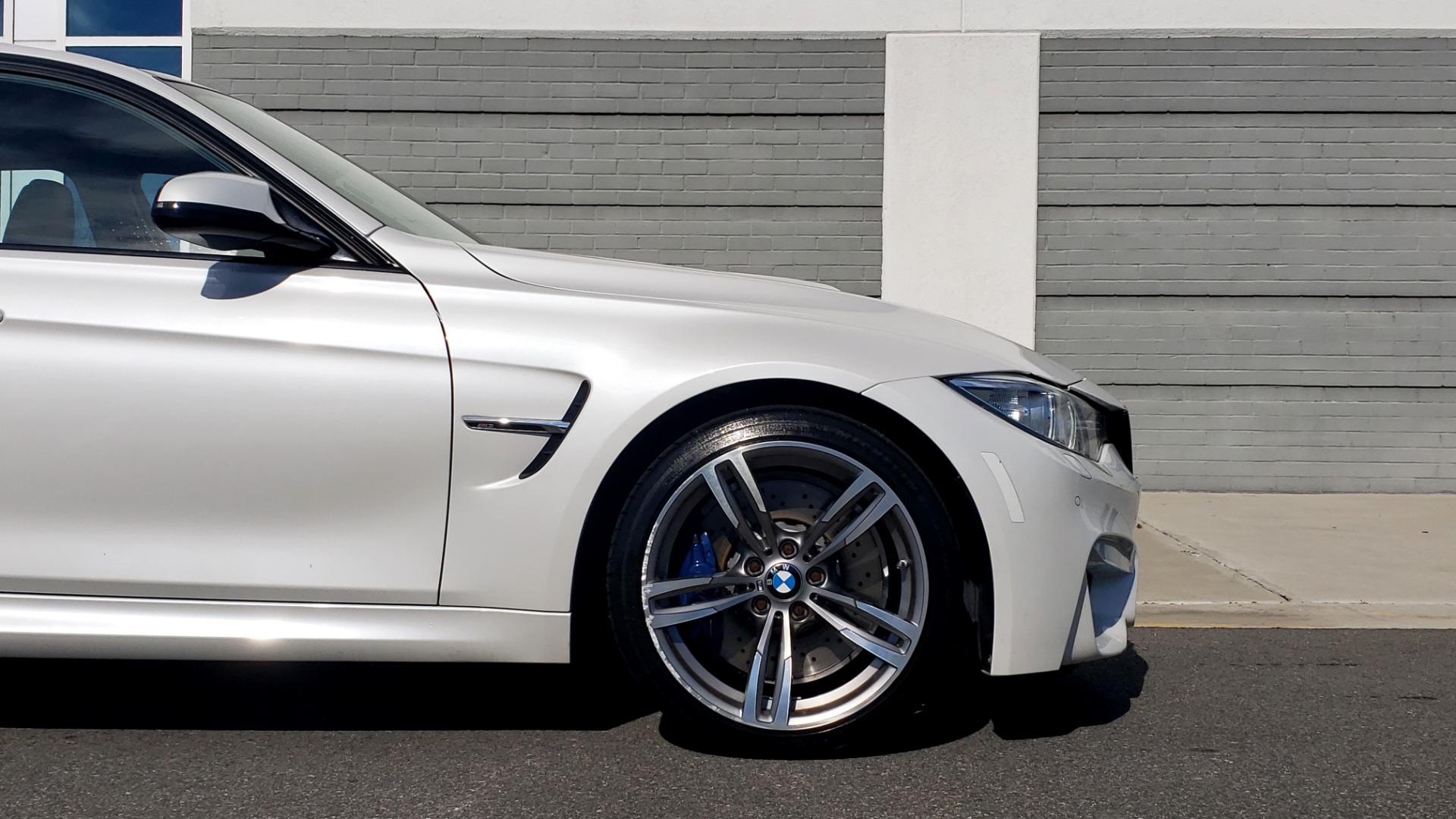 Used 2016 BMW M3 SEDAN / EXECUTIVE PKG / M-SUSPENSION / HARMAN/KARDON SOUND for sale Sold at Formula Imports in Charlotte NC 28227 81