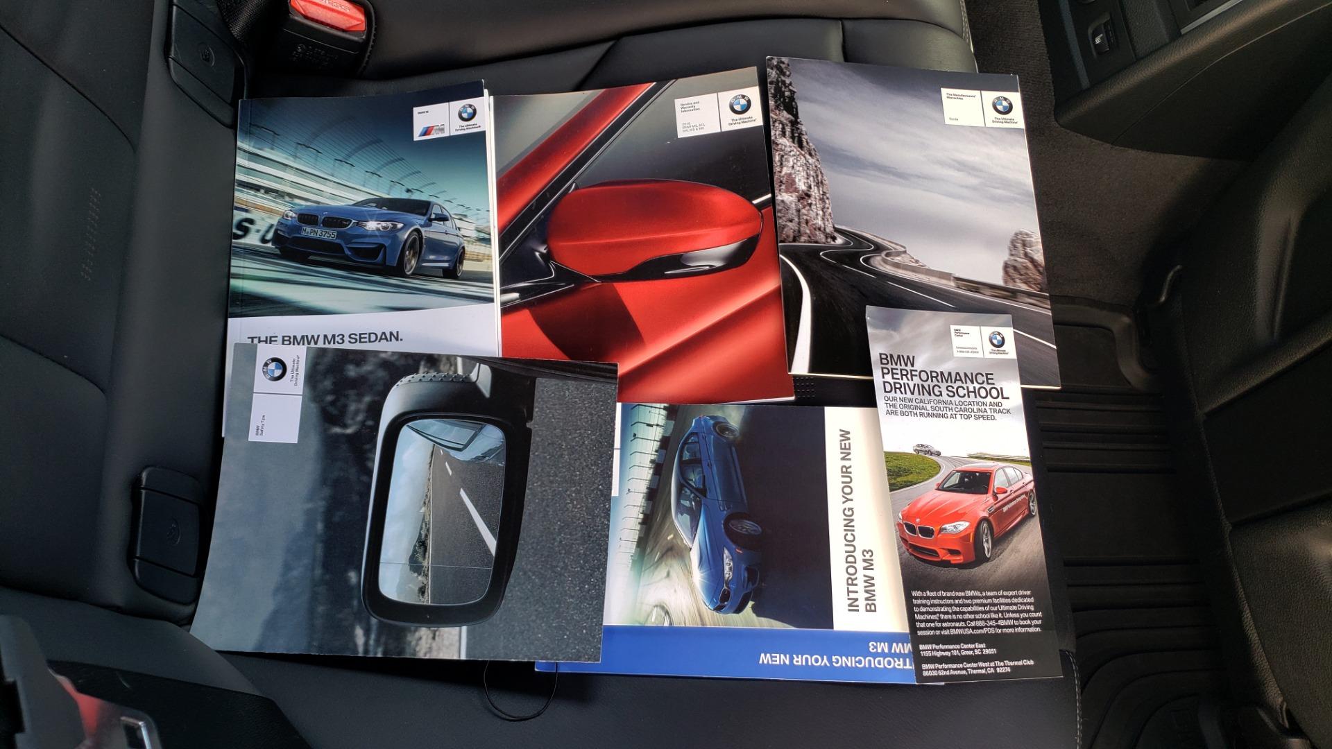 Used 2016 BMW M3 SEDAN / EXECUTIVE PKG / M-SUSPENSION / HARMAN/KARDON SOUND for sale Sold at Formula Imports in Charlotte NC 28227 88