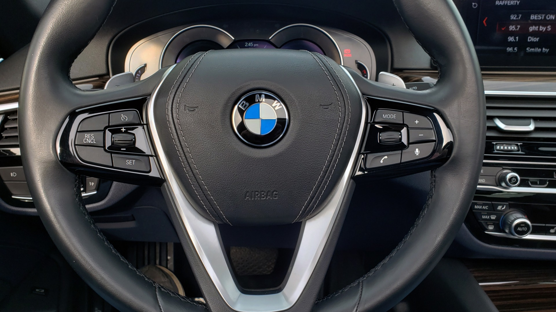 Used 2017 BMW 5 SERIES 530I PREMIUM / DRVR ASST PLUS / NAV / HUD / SUNROOF / REARVIEW for sale Sold at Formula Imports in Charlotte NC 28227 44