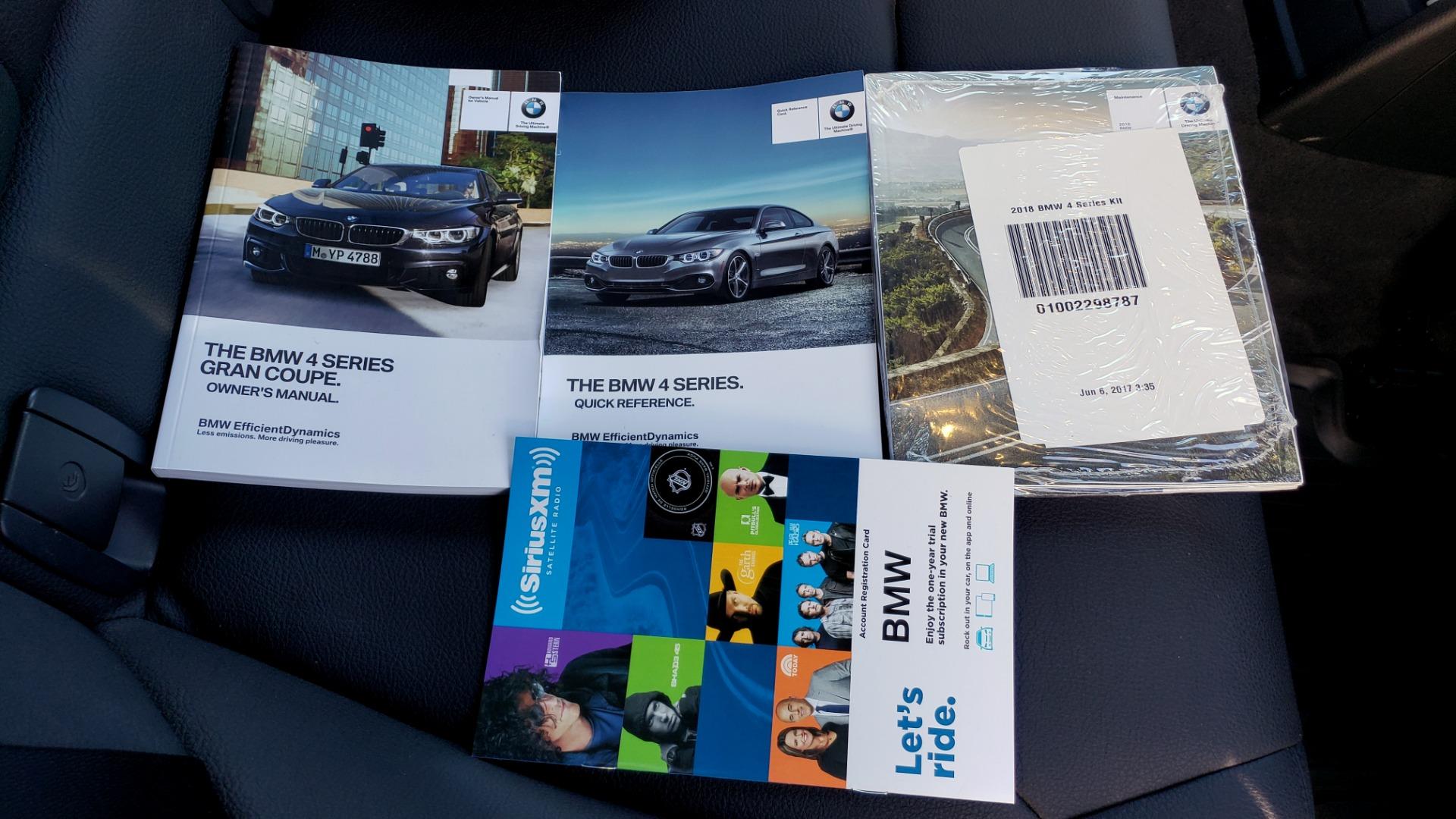 Used 2018 BMW 4 SERIES 430IXDRIVE / PREMIUM / NAV / SUNROOF / ESSENTIALS PKG for sale $29,495 at Formula Imports in Charlotte NC 28227 88