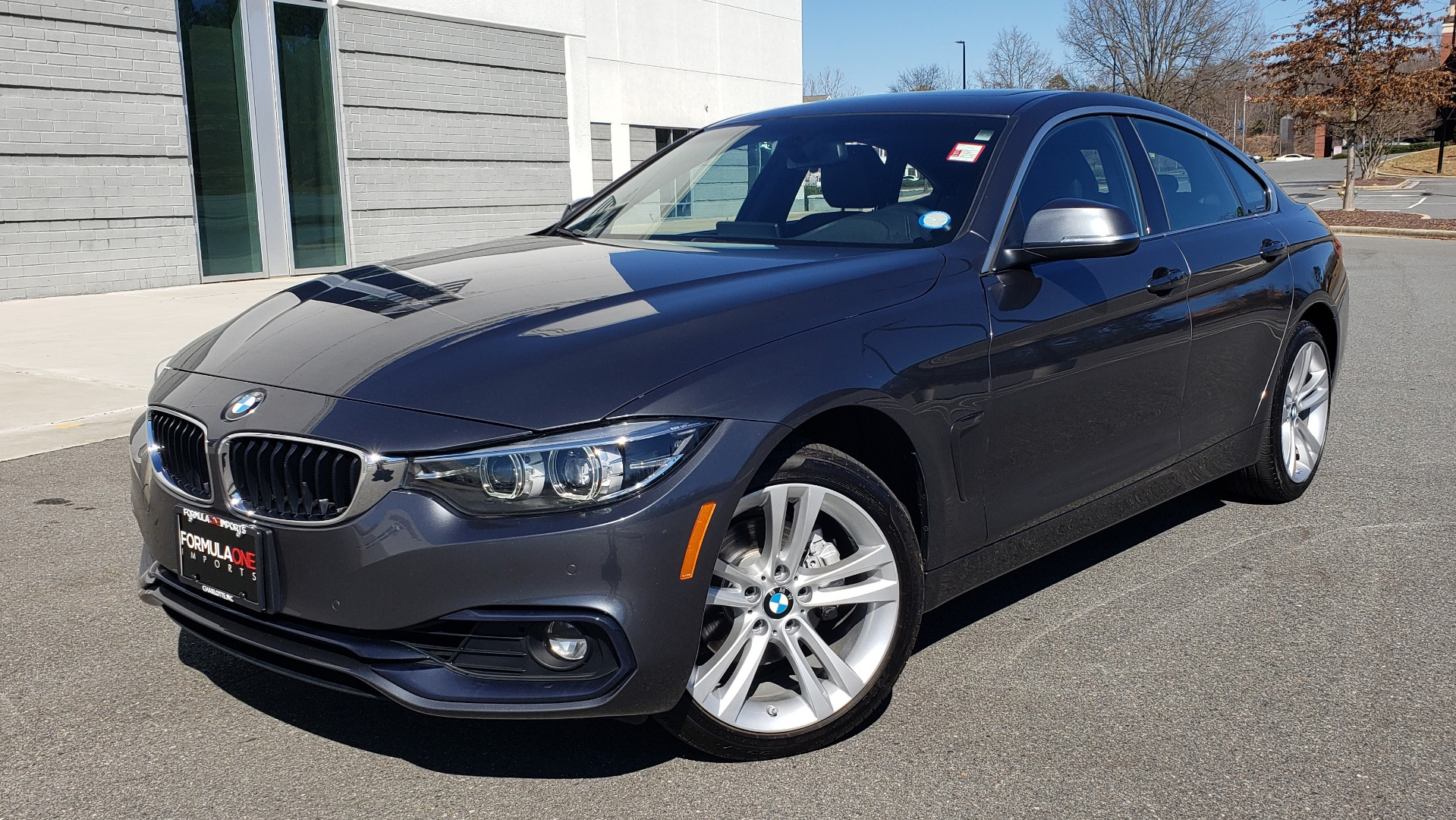 Used 2018 BMW 4 SERIES 430IXDRIVE / PREMIUM / NAV / SUNROOF / ESSENTIALS PKG for sale Sold at Formula Imports in Charlotte NC 28227 1