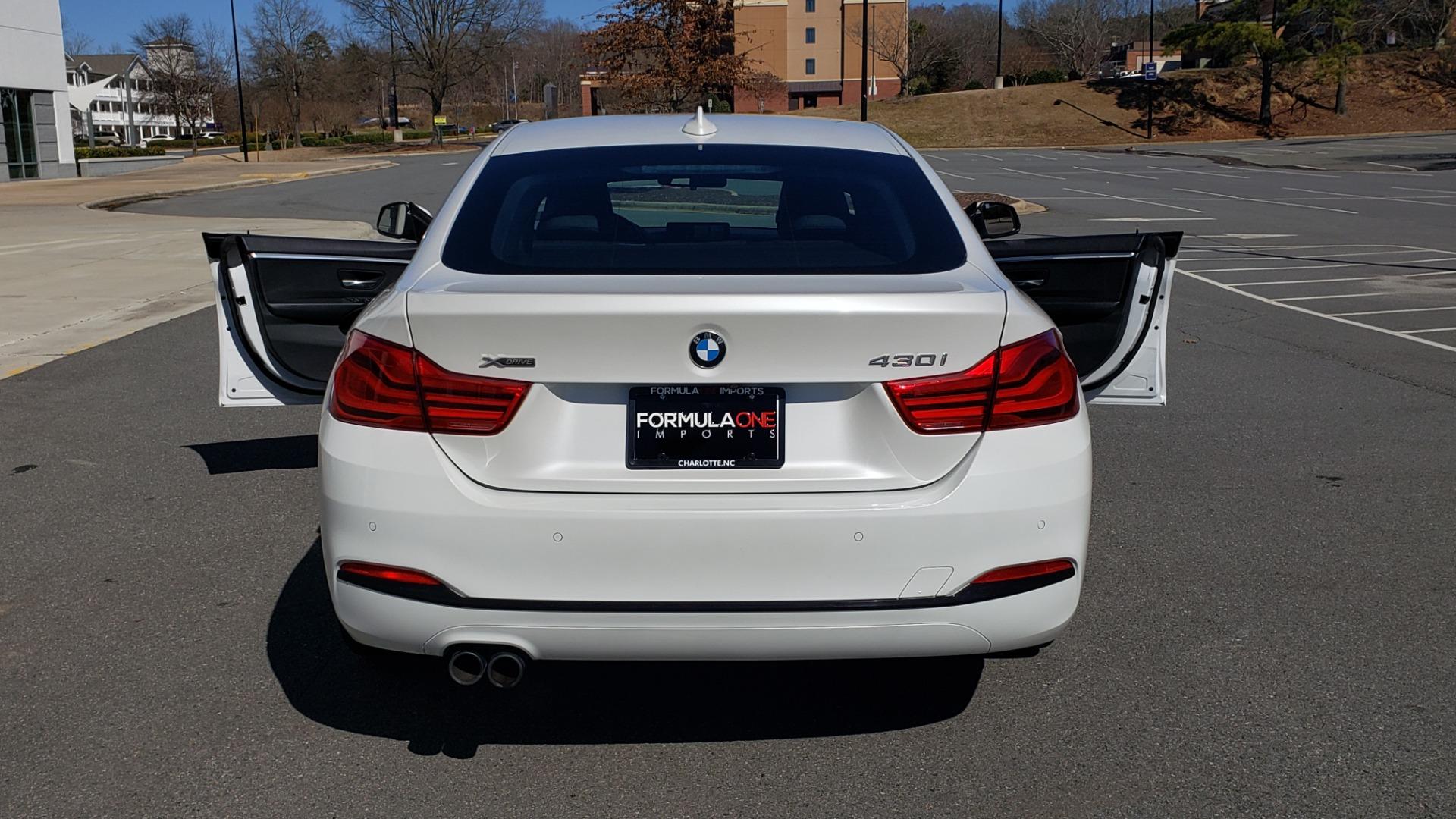 Used 2018 BMW 4 SERIES 430IXDRIVE / PREMIUM / NAV / SUNROOF / ESSENTIALS PKG for sale $27,795 at Formula Imports in Charlotte NC 28227 21