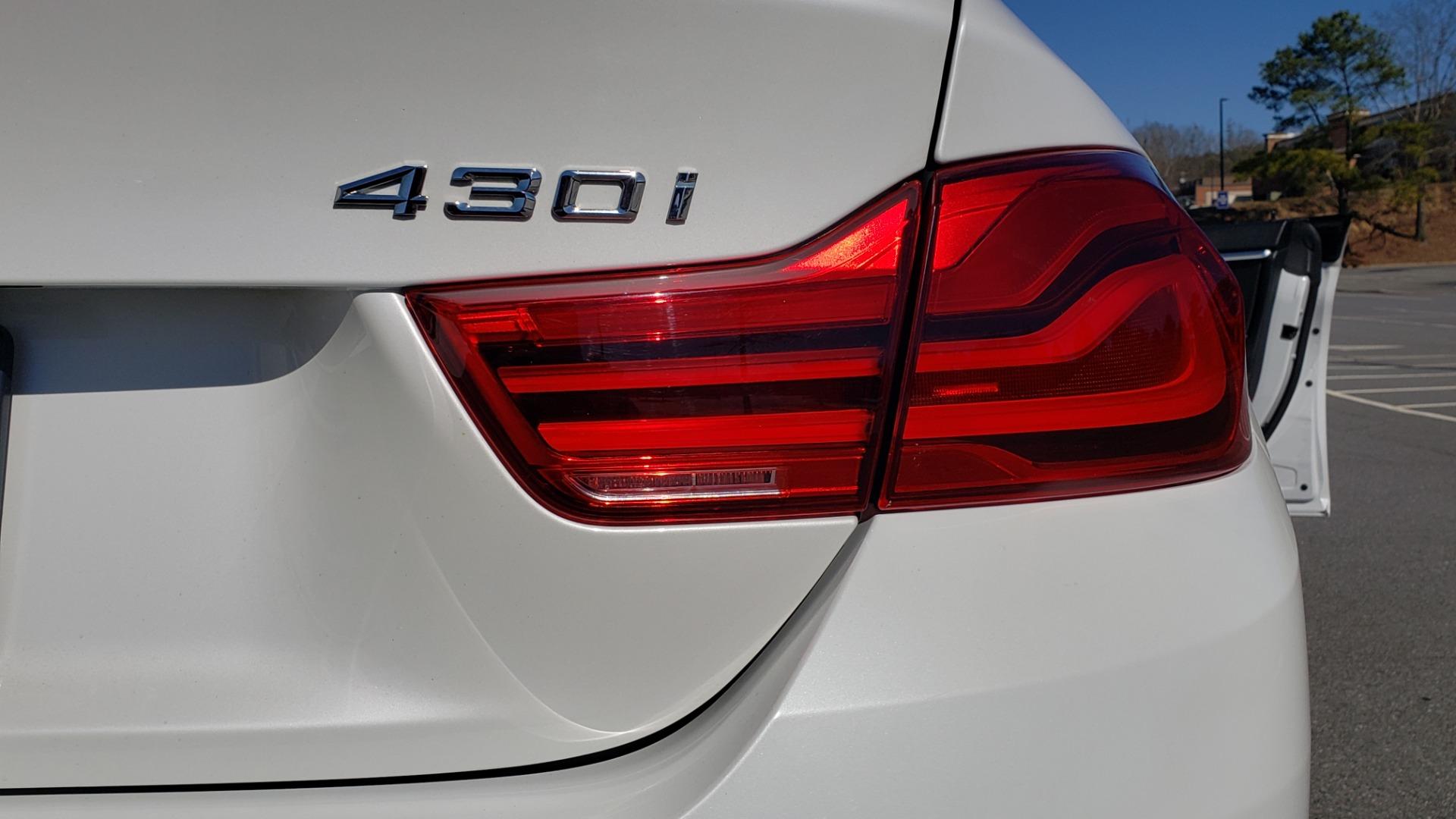 Used 2018 BMW 4 SERIES 430IXDRIVE / PREMIUM / NAV / SUNROOF / ESSENTIALS PKG for sale $28,995 at Formula Imports in Charlotte NC 28227 23